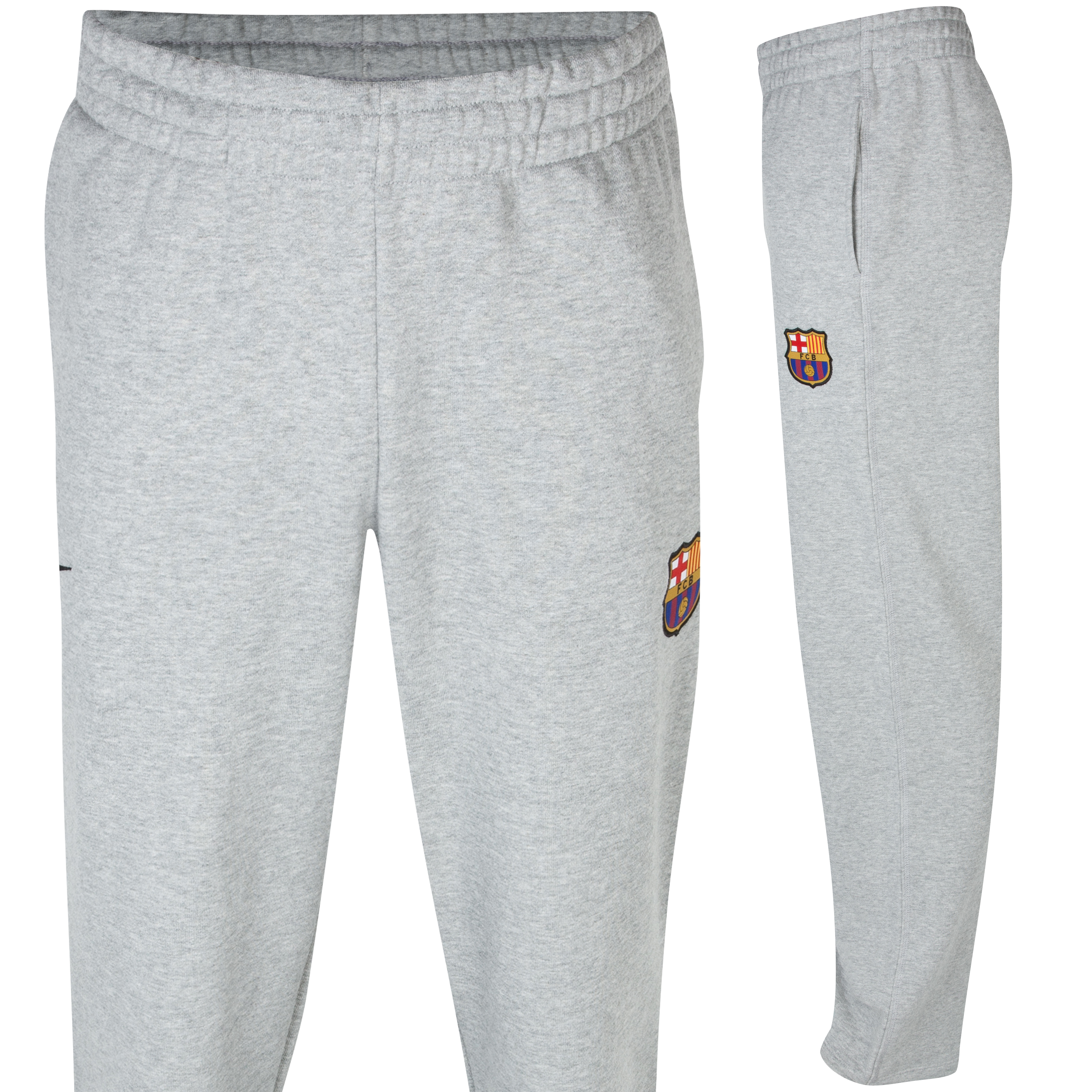 Barcelona Open Hem Core Pant - Dk Grey Heather/Black