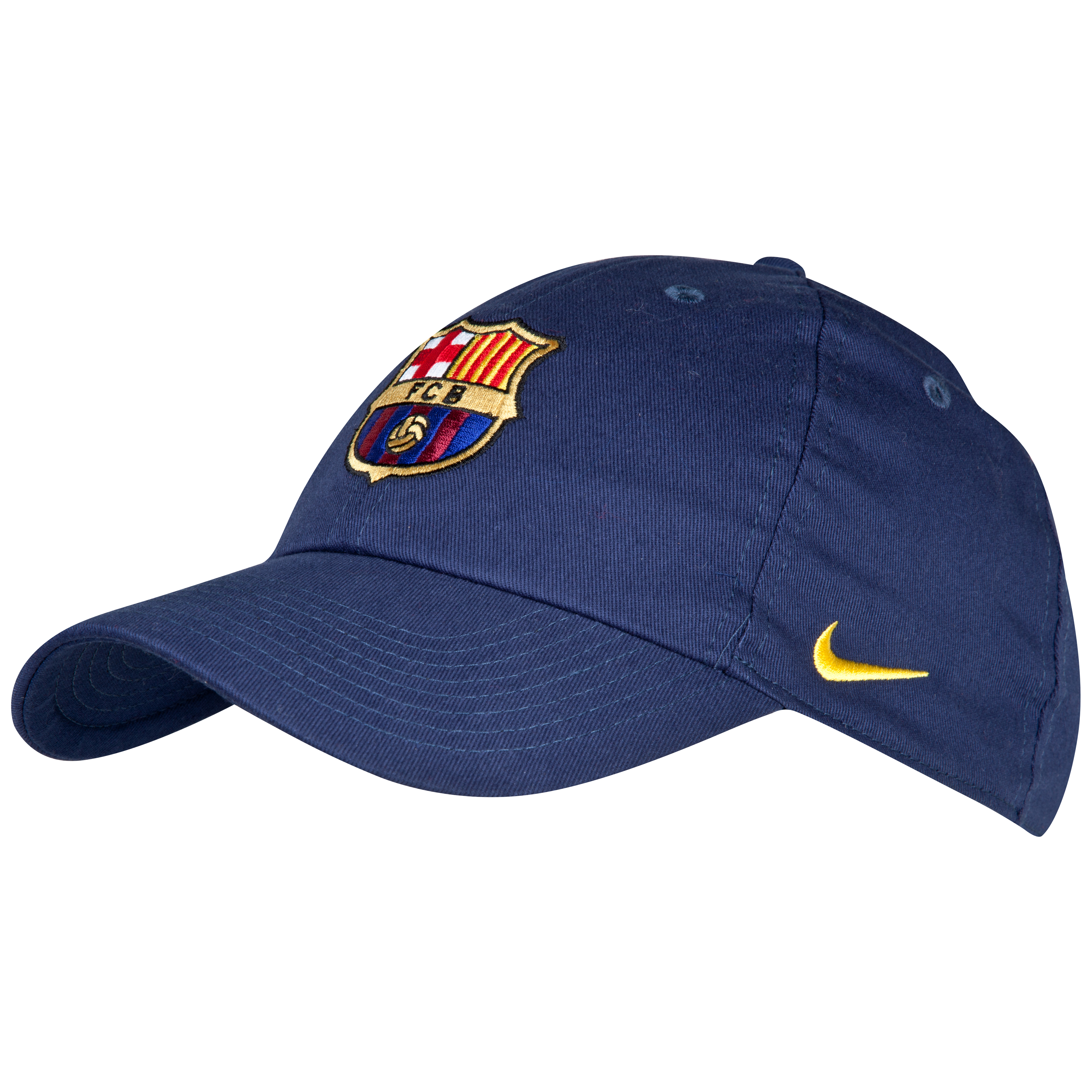 Barcelona Core Cap - Midnight Navy/Tour Yellow