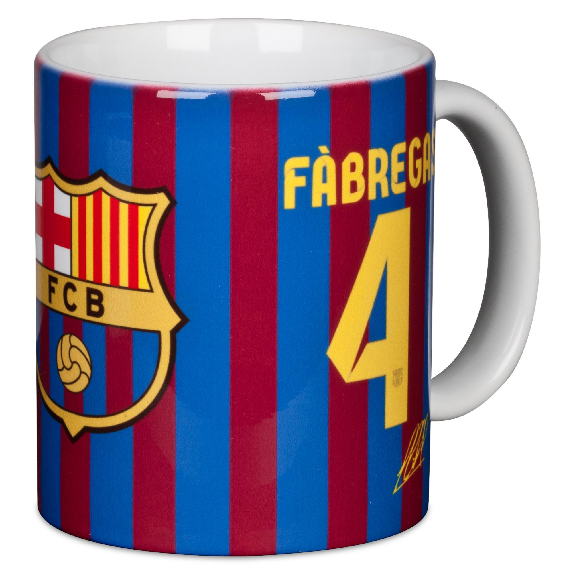 Barcelona 2012/13 Fabregas Mug