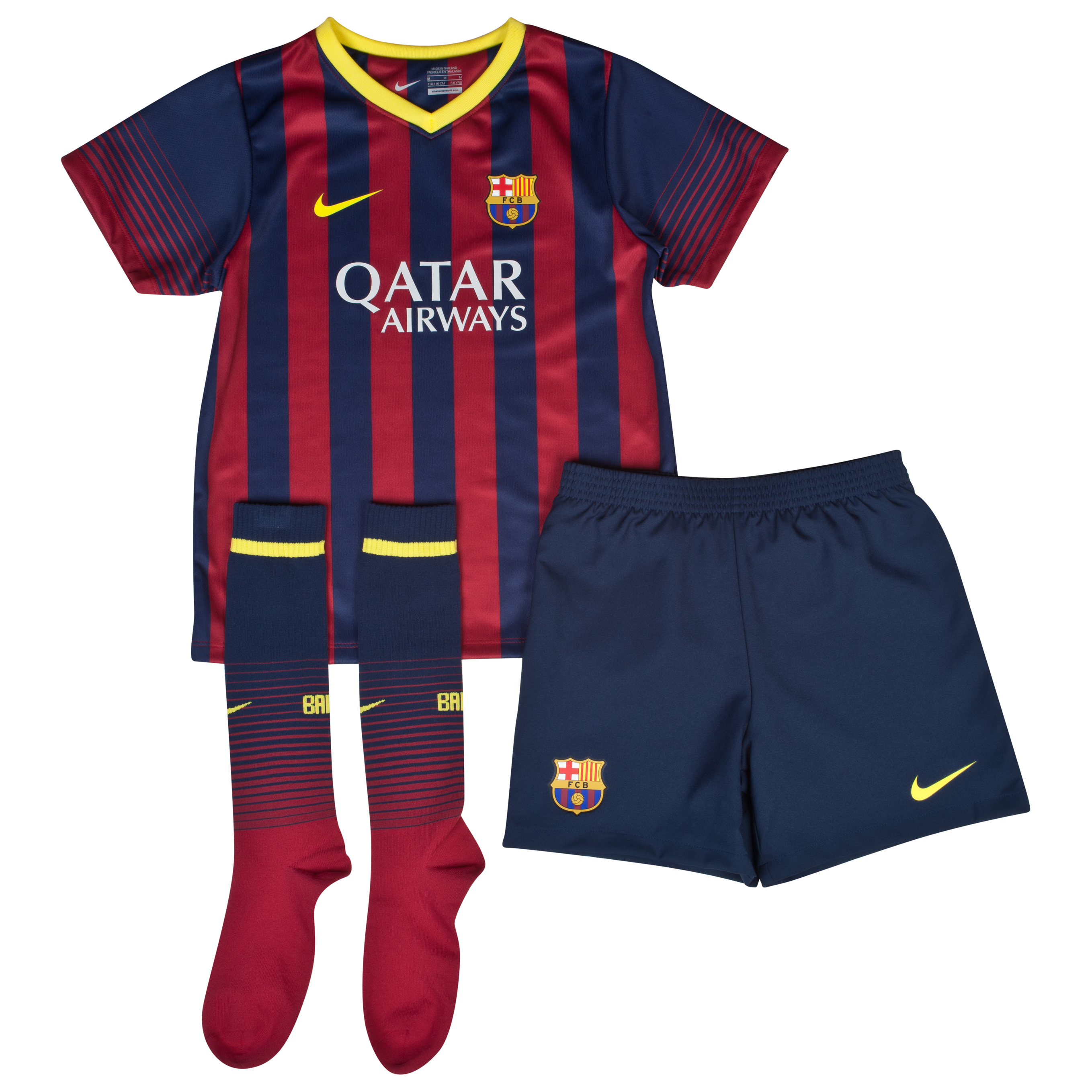 Barcelona Home Kit 2013/14 - Little Boys
