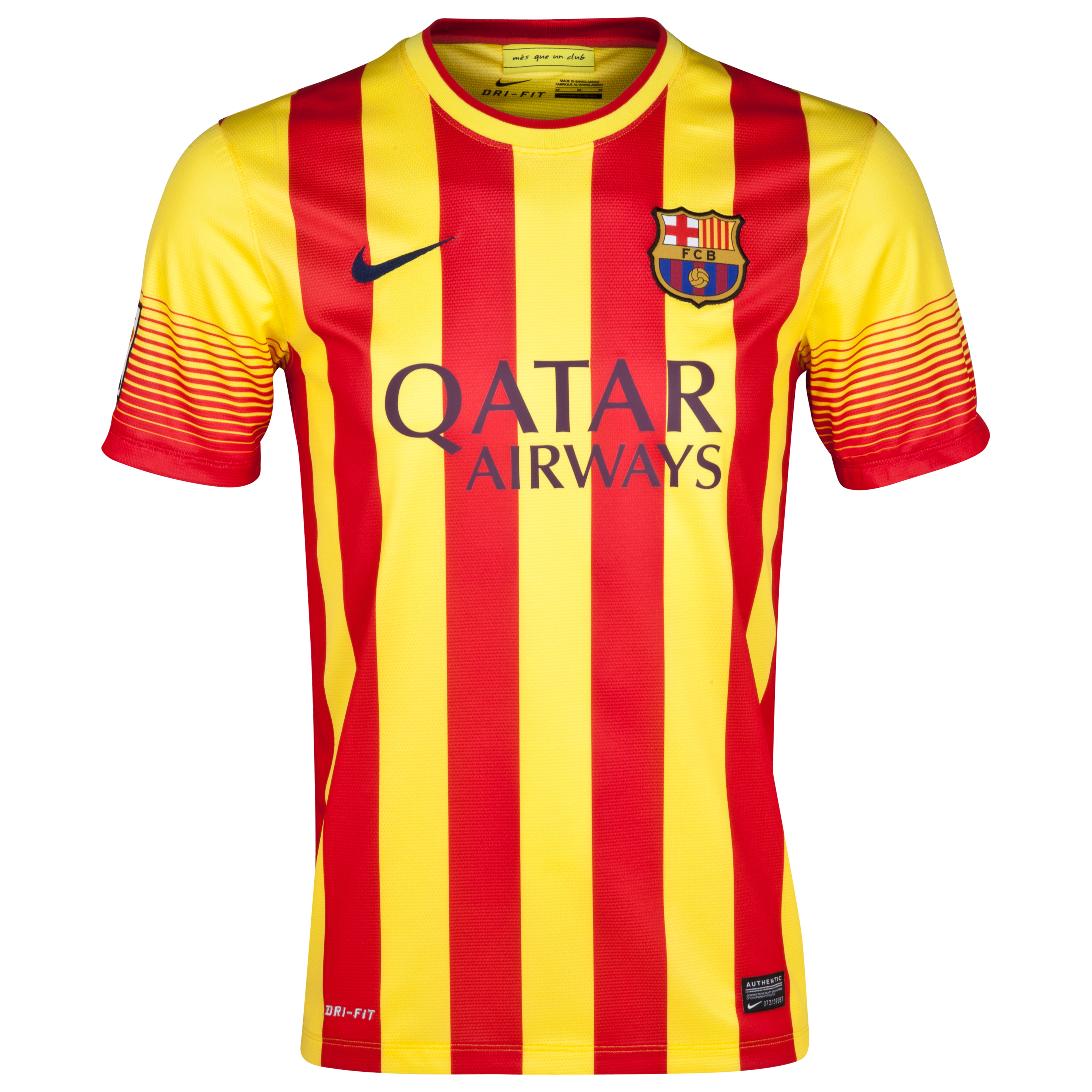 Barcelona Away Shirt 2013/14 Kids