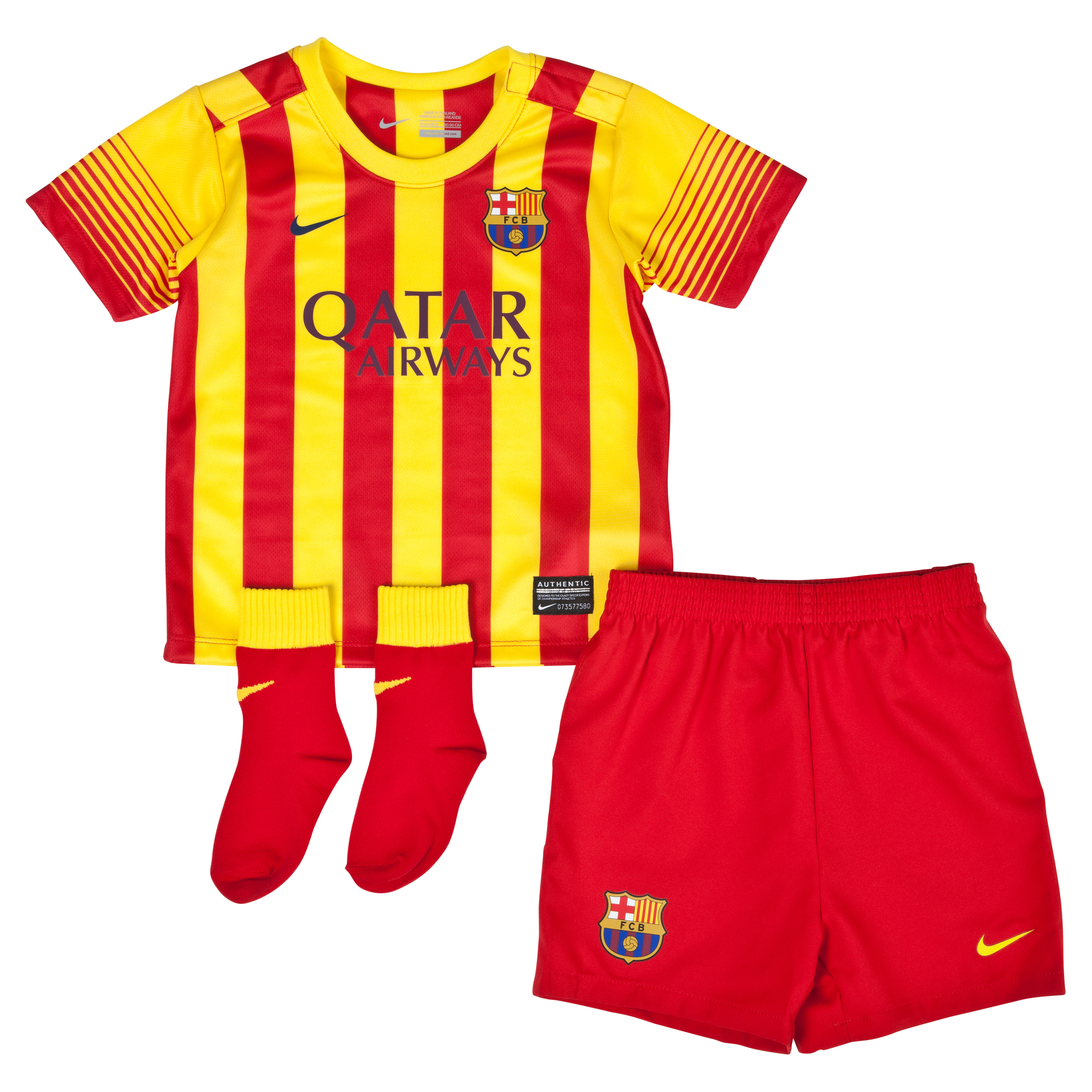 Barcelona Away Kit 2013/14 - Infants