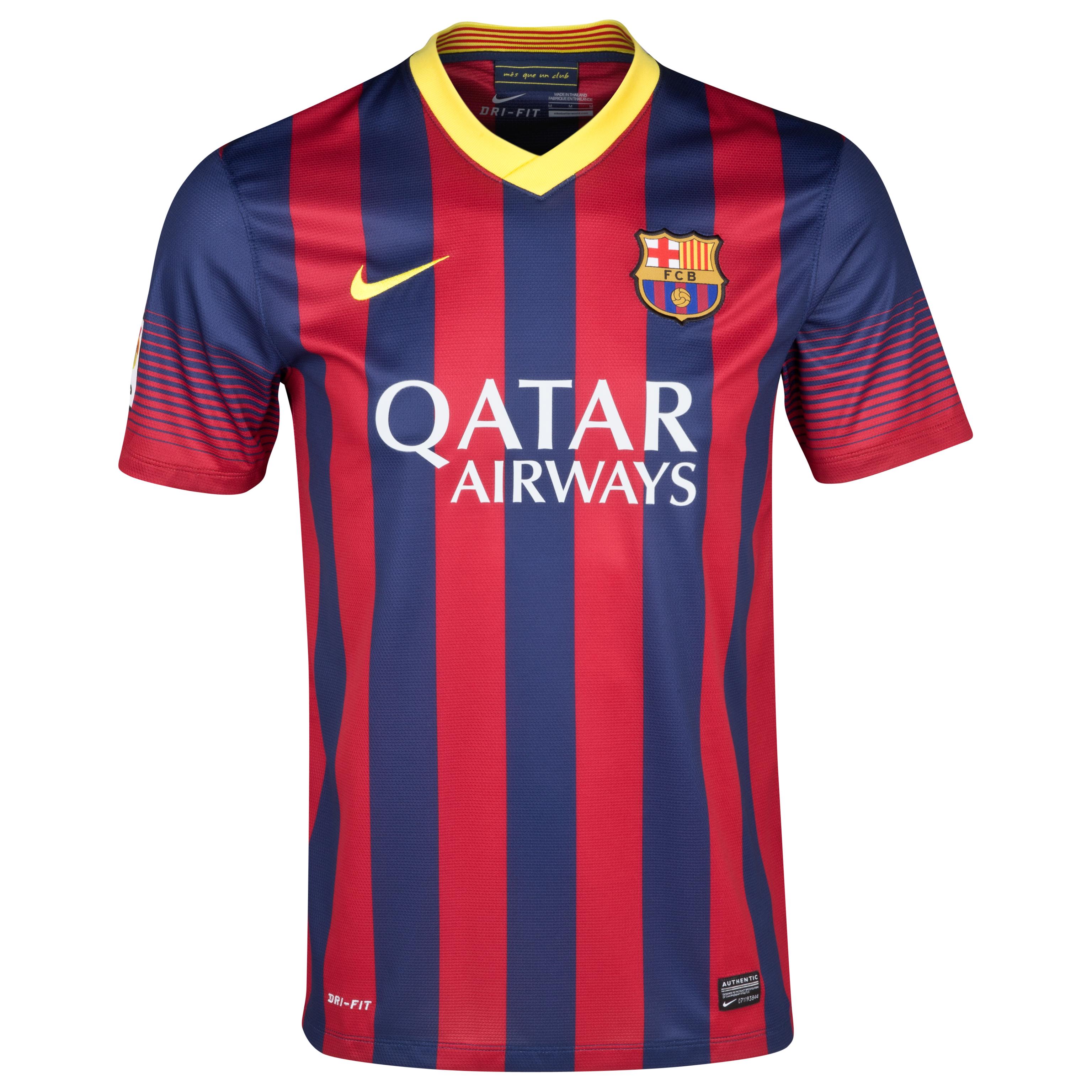 Barcelona Home Shirt 2013/14
