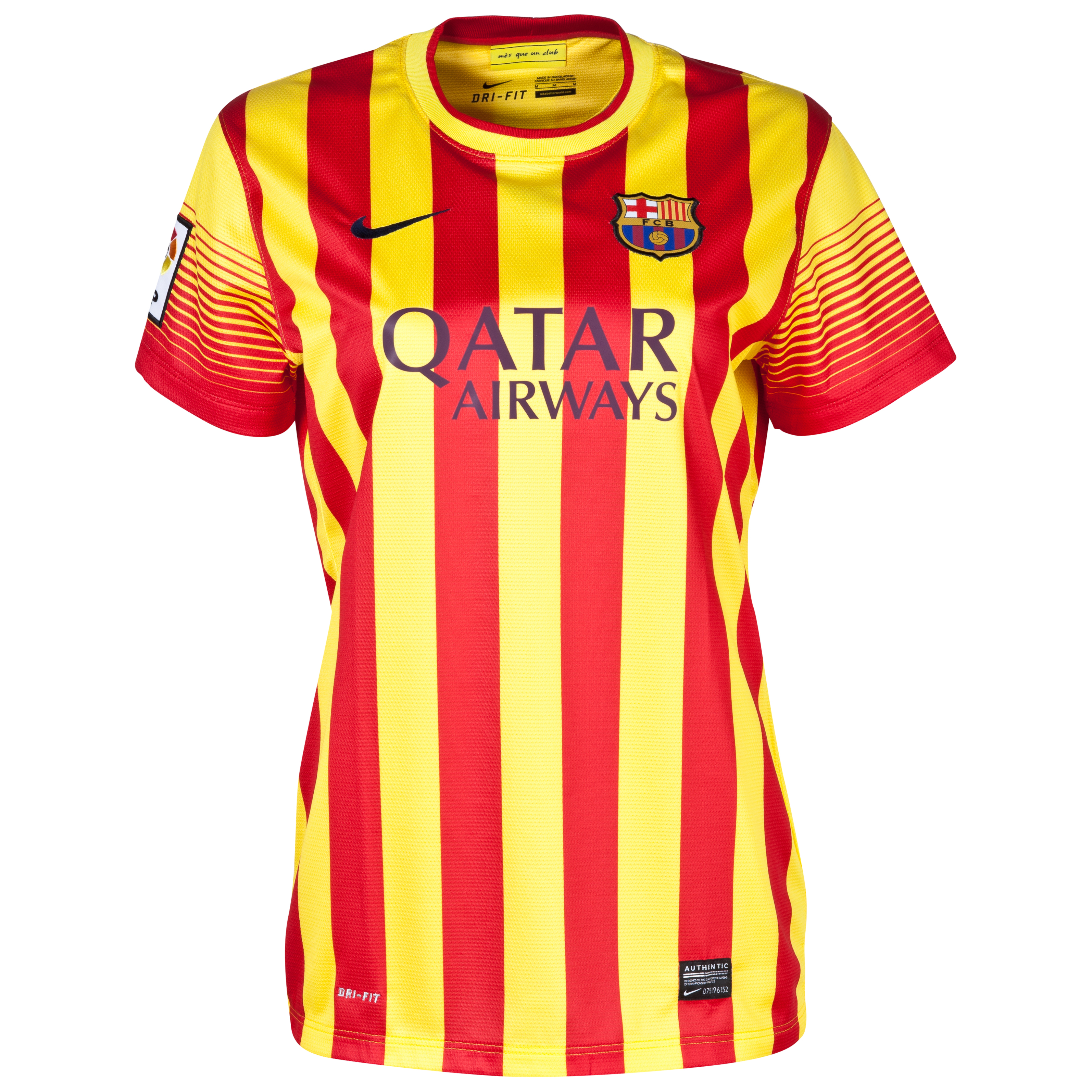 Buy Barcelona Away Kit 2013/14 Womens