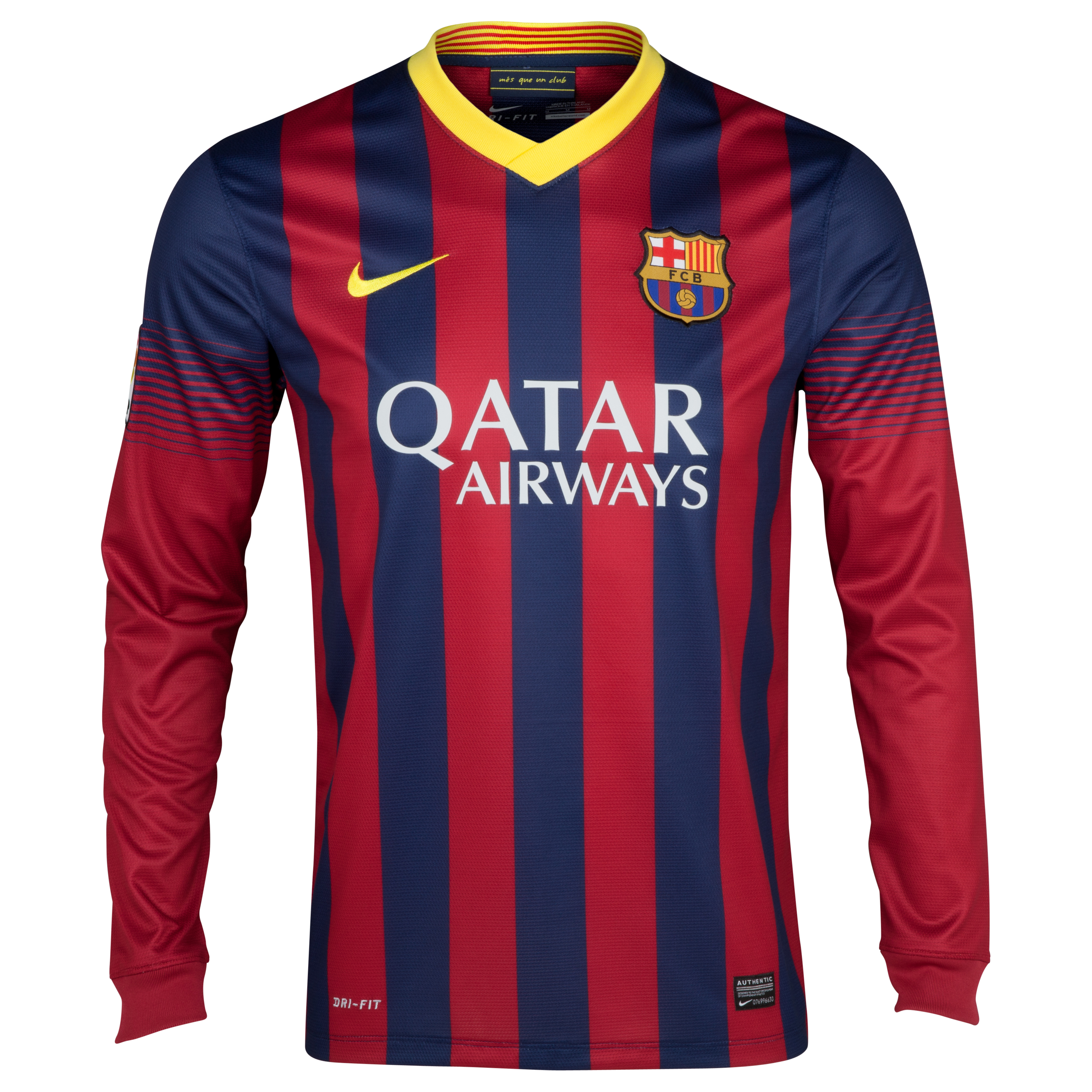 Barcelona Home Shirt 2013/14 - Long Sleeved
