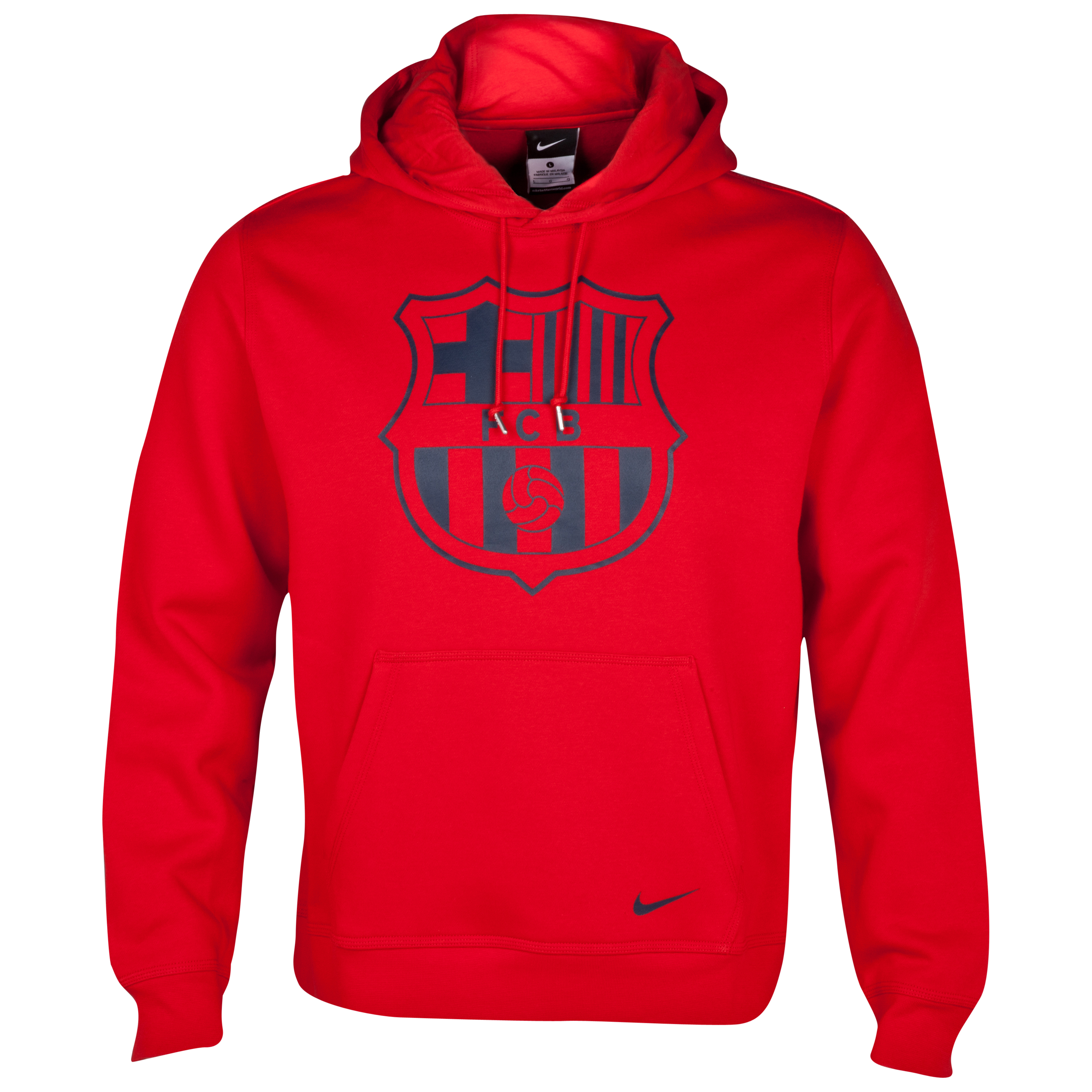 Barcelona Core Hoody Red
