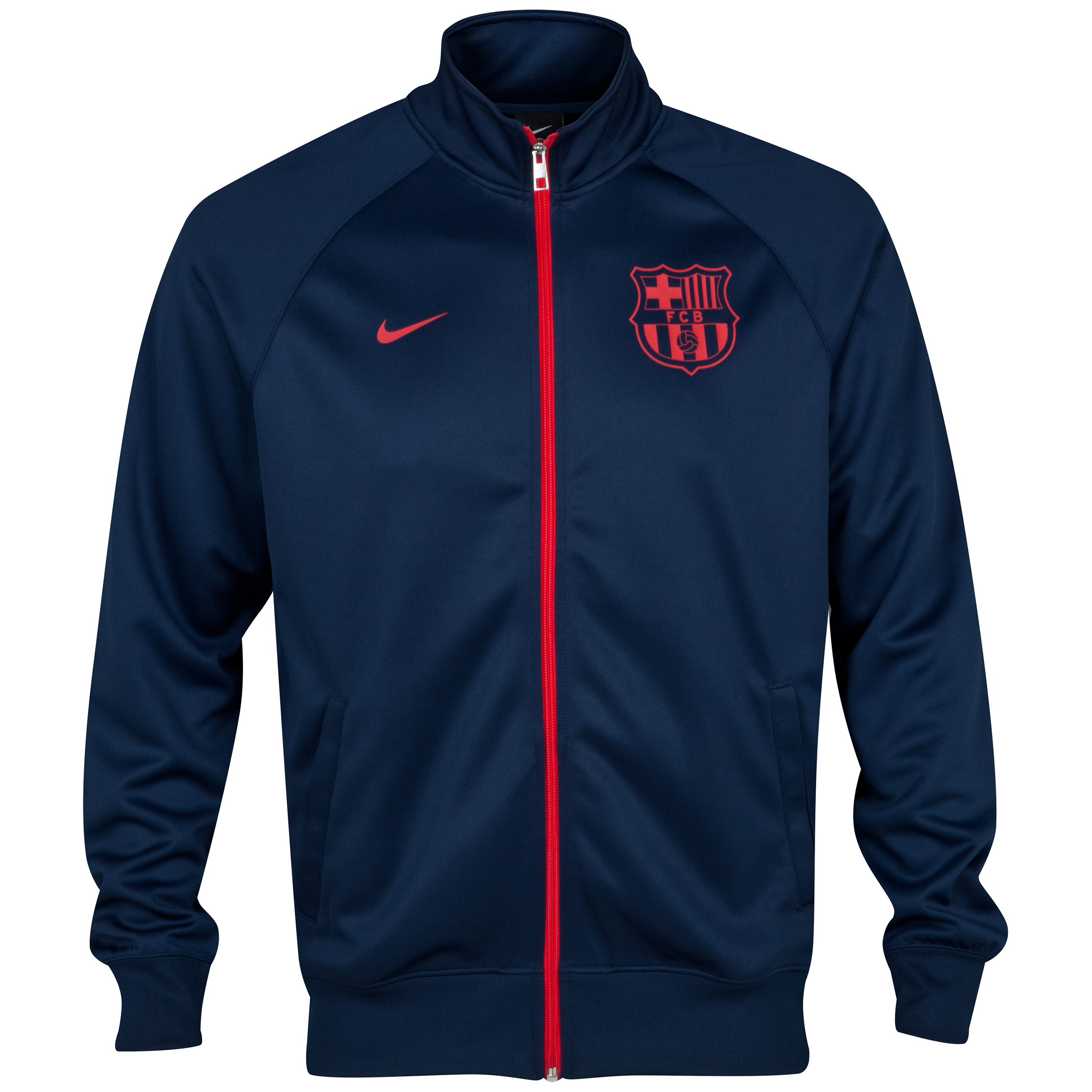 Barcelona Core Trainer Jacket Navy