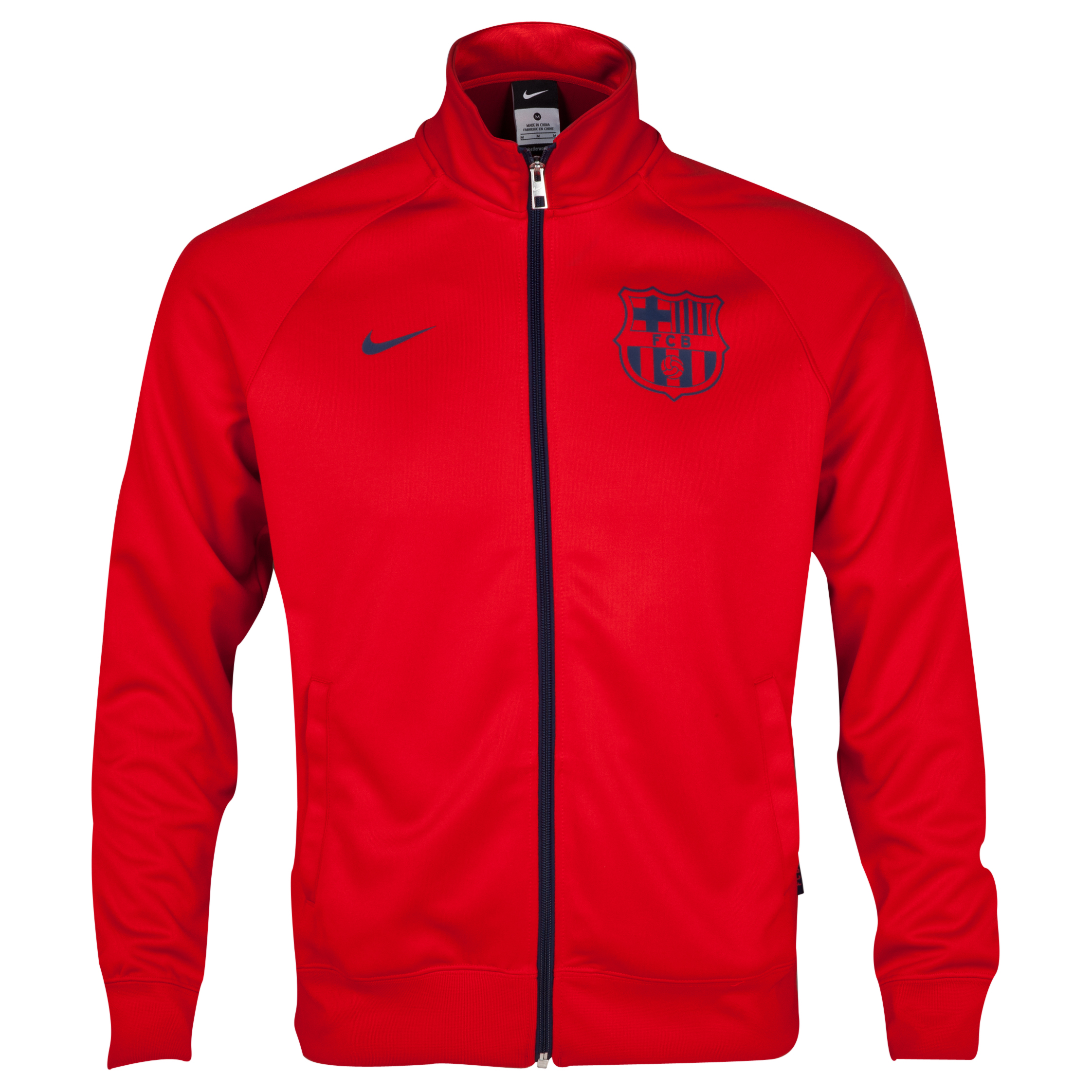 Barcelona Core Trainer Jacket Red