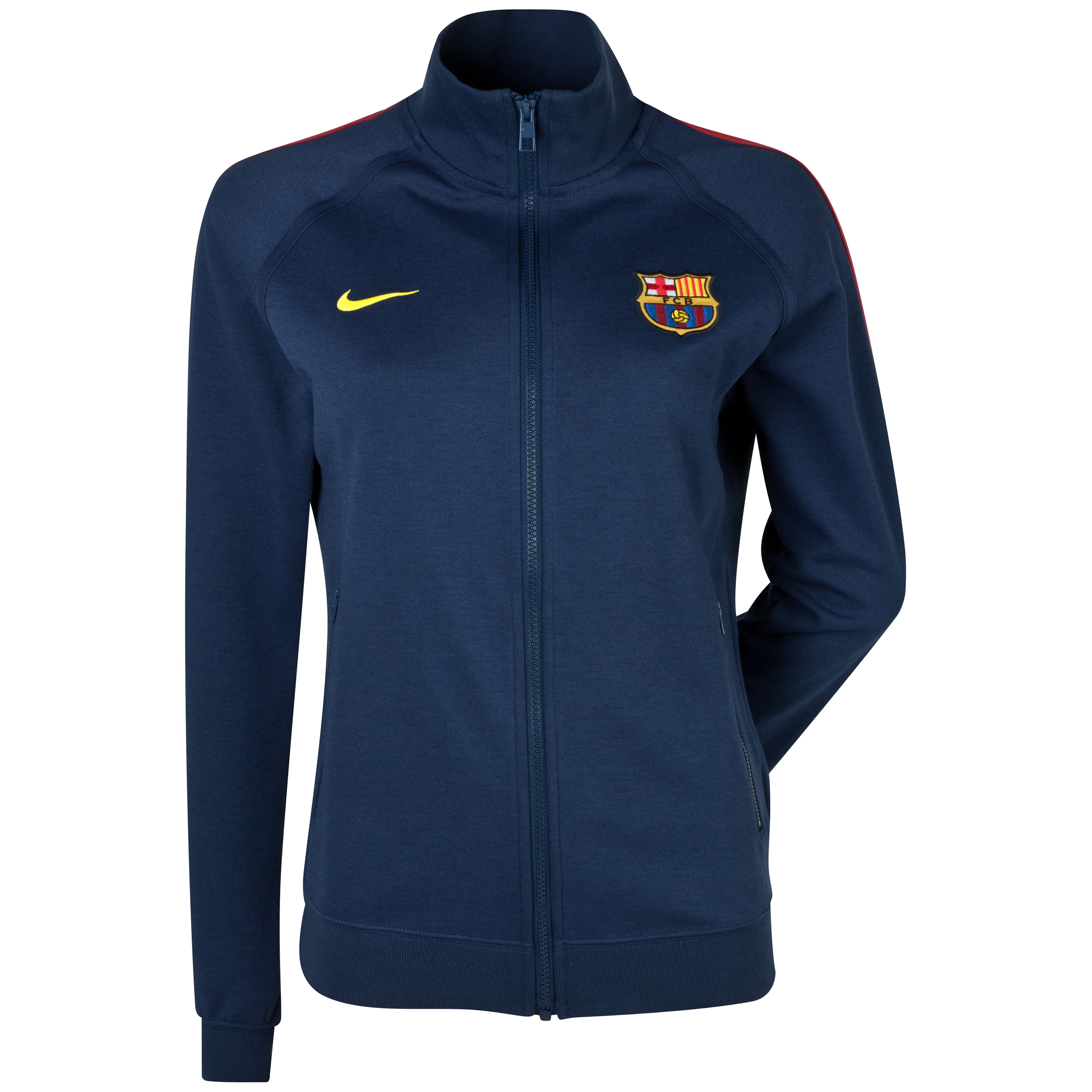 Barcelona Authentic Track Top - Womens Navy