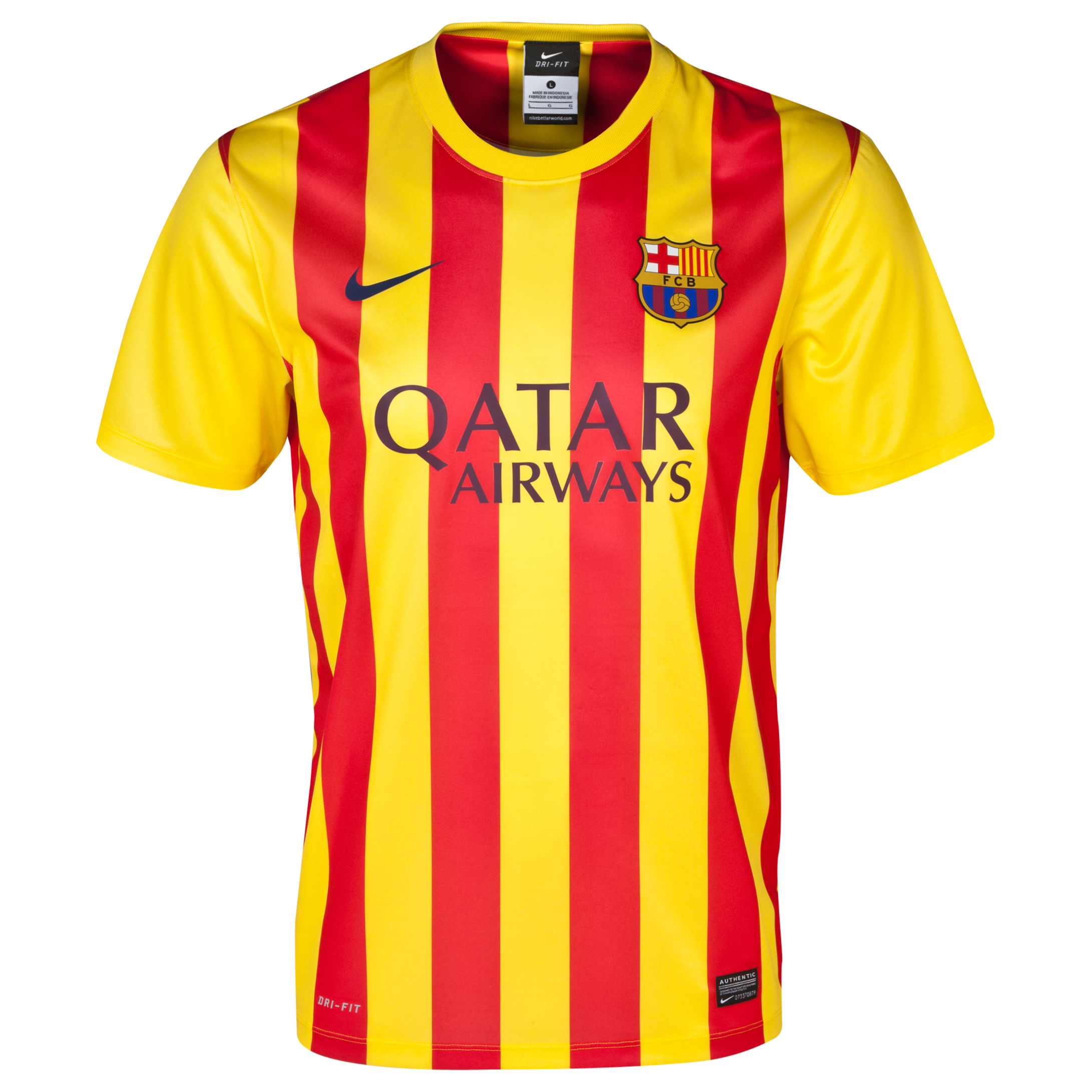 Buy Barcelona Away Stadium Kit 2013/14