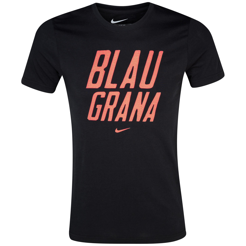 Barcelona Core Type T-Shirt Black
