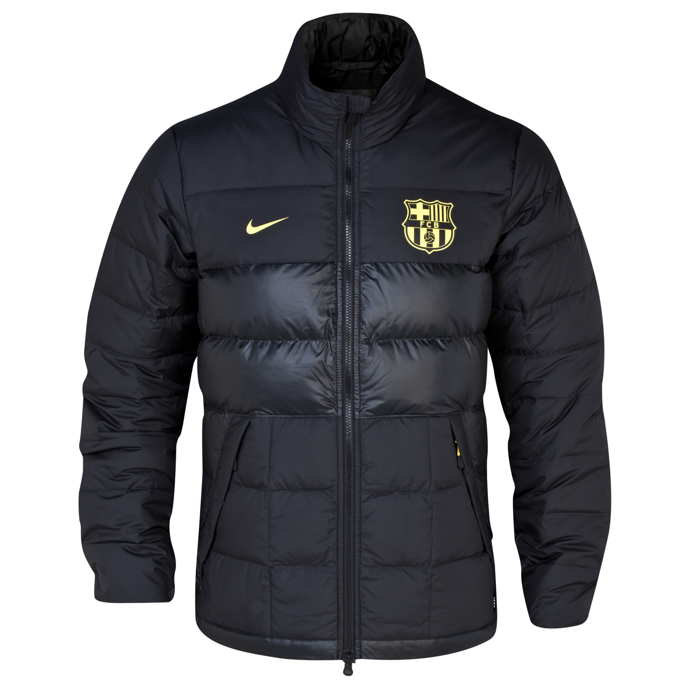 Barcelona Alliance 550 Jacket - Black/Vibrant Yellow Black