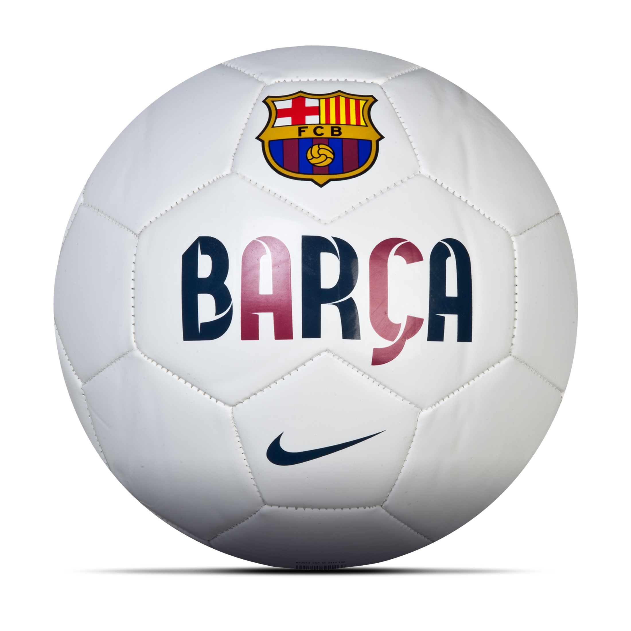 Barcelona Supporters Football - White/Navy/Red White