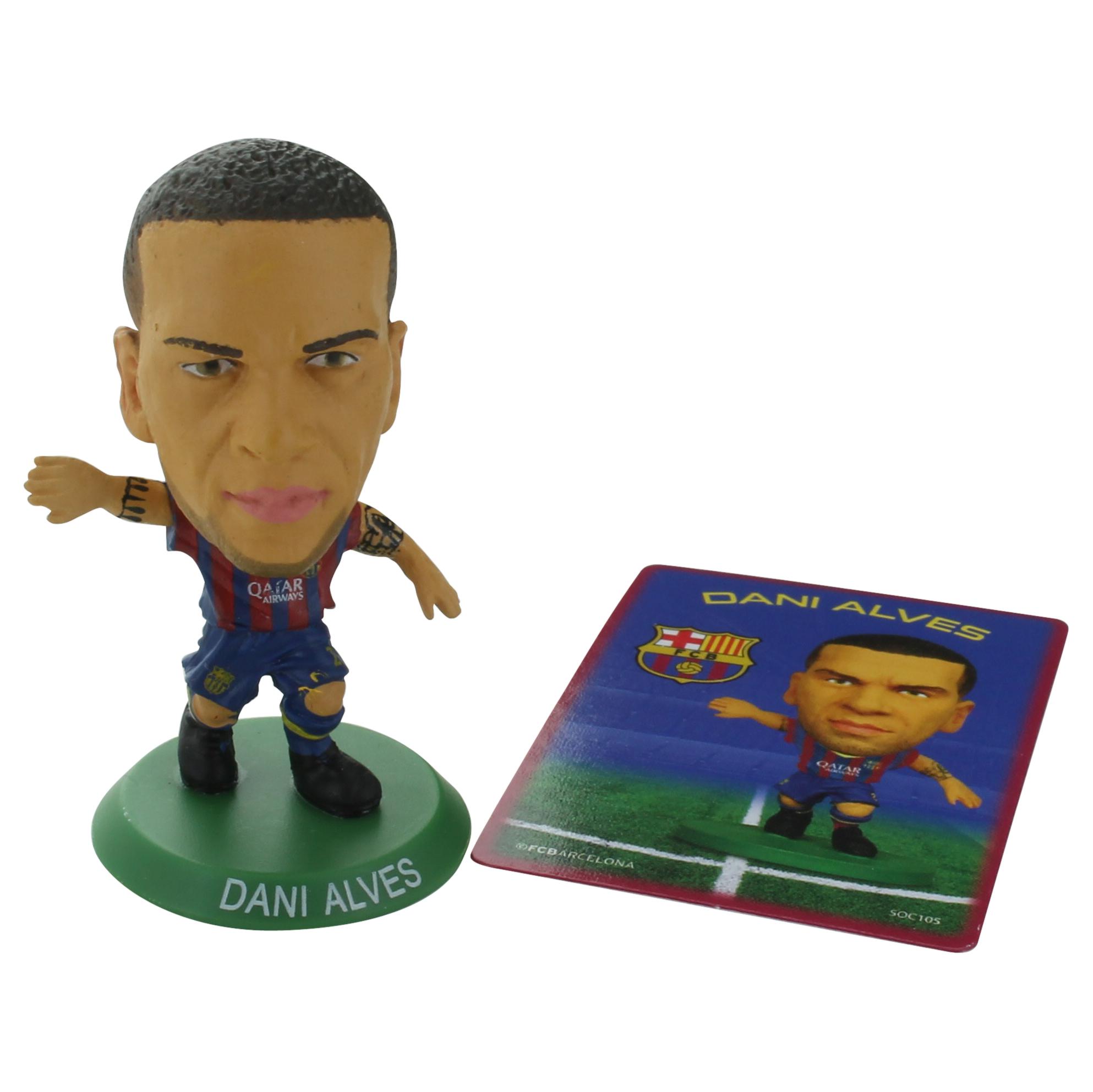 Barcelona Dani Alves Home SoccerStarz