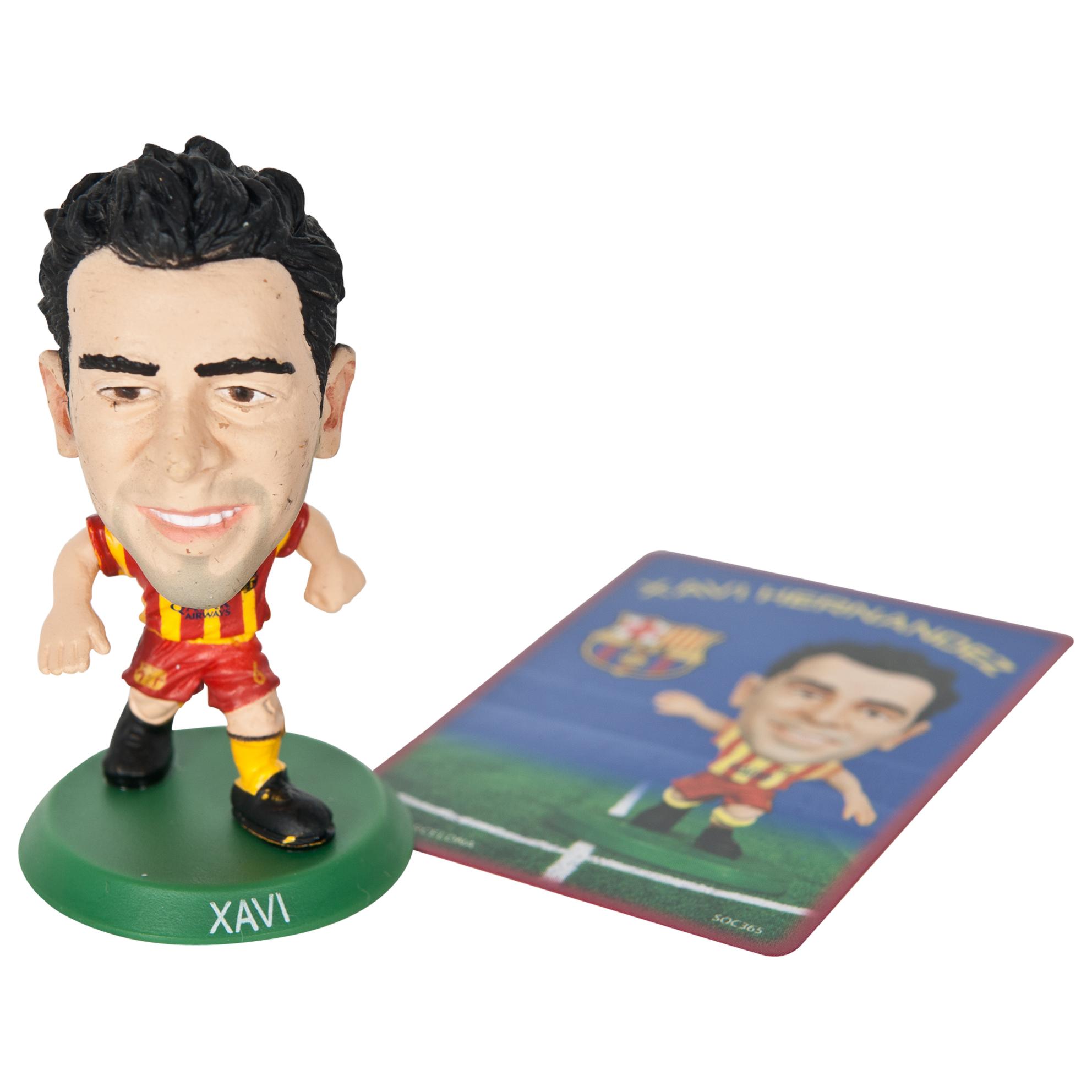 Barcelona Xavi Hernandez Away SoccerStarz