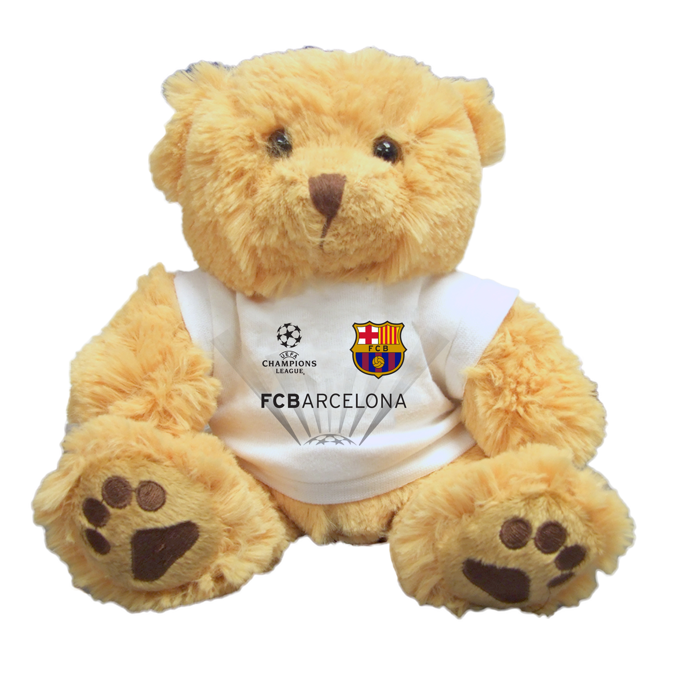 Barcelona UEFA Champions League Bear - 10 Inch