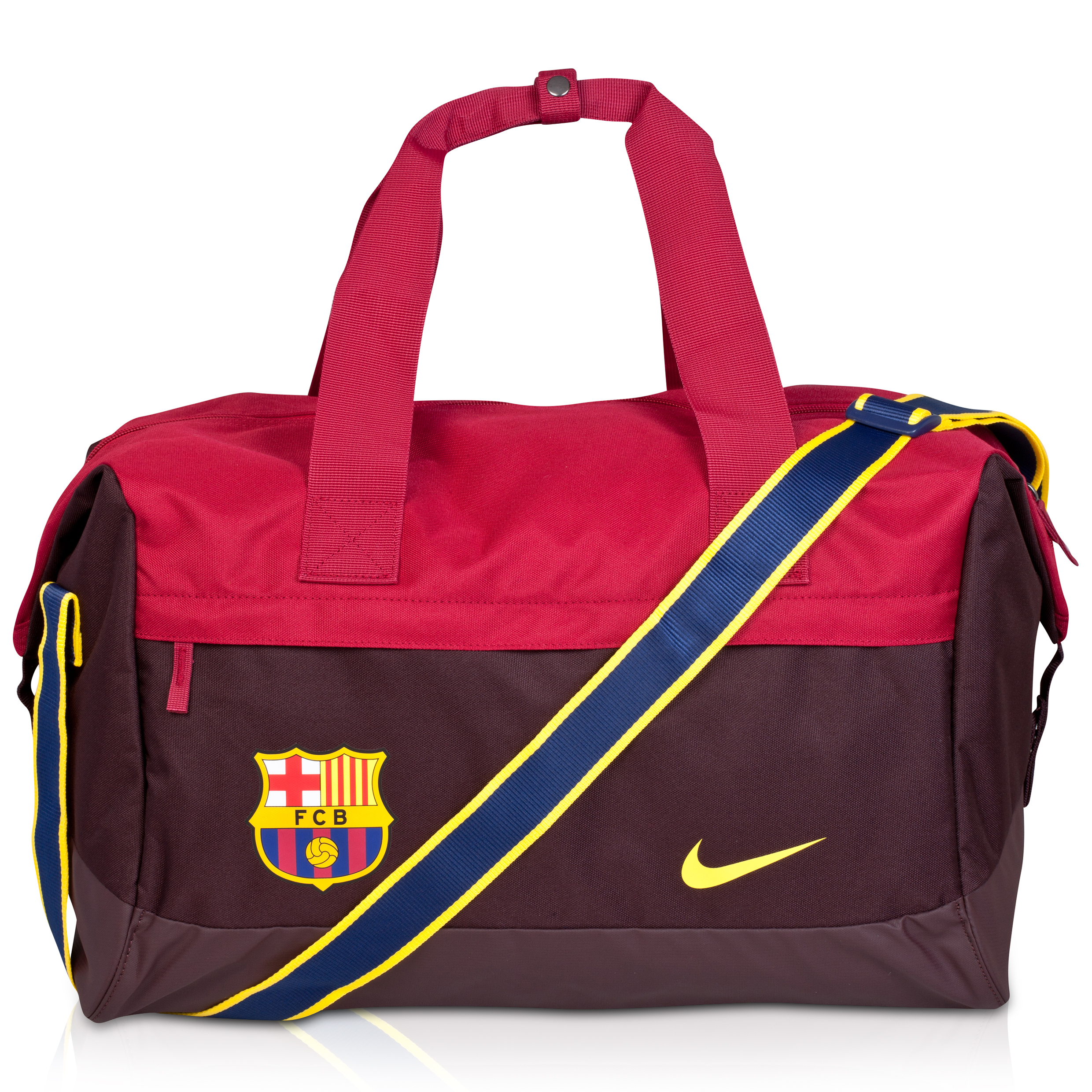 Barcelona Allegiance Shield Compact Duffle Bag Red