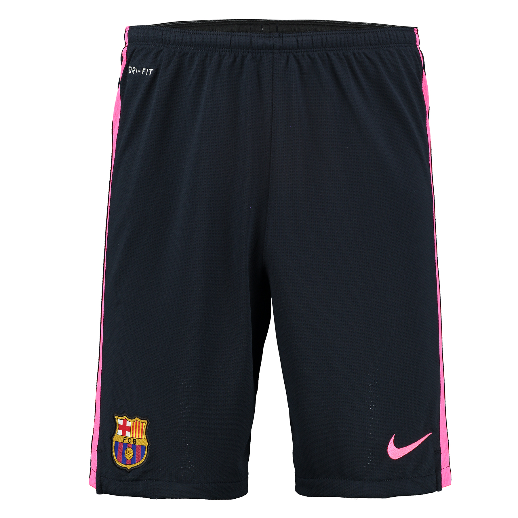 Barcelona Squad Longer Knit Short Navy