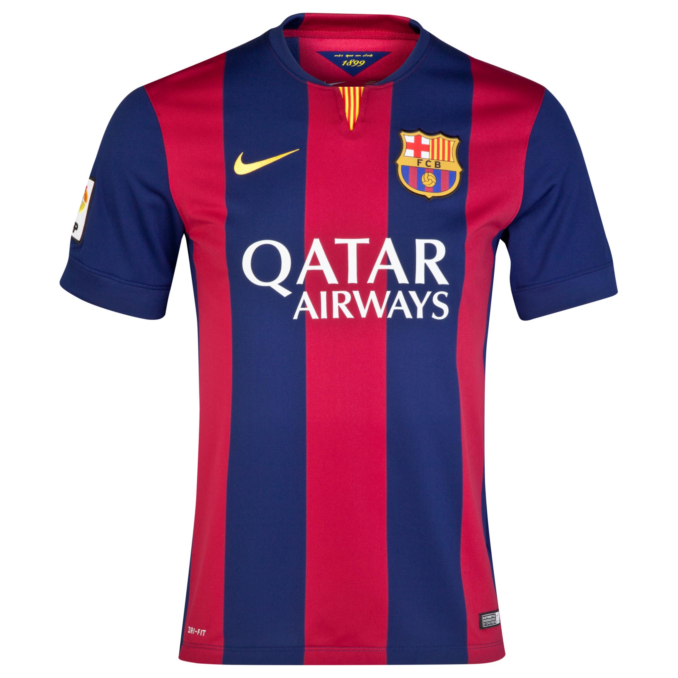 Barcelona Home Shirt 2014/15 Blue