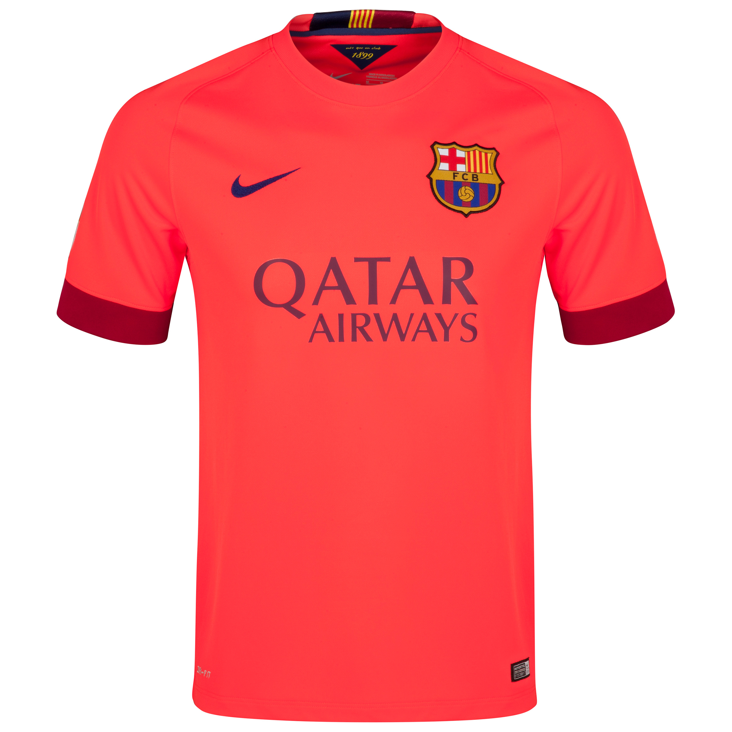 Barcelona Away Shirt 2014/15 Red