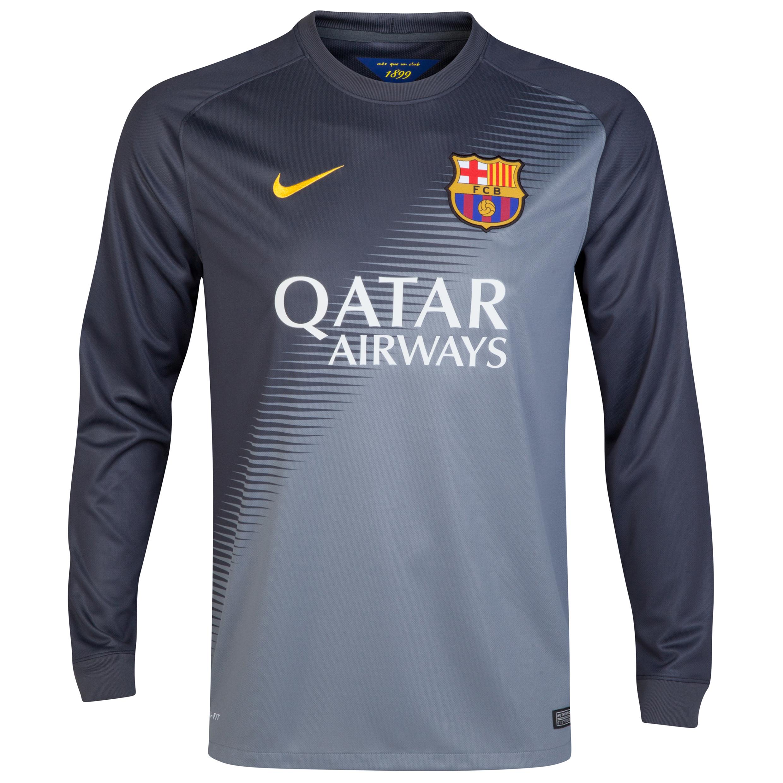 Barcelona Goalkeeper Shirt 2014/15 Black