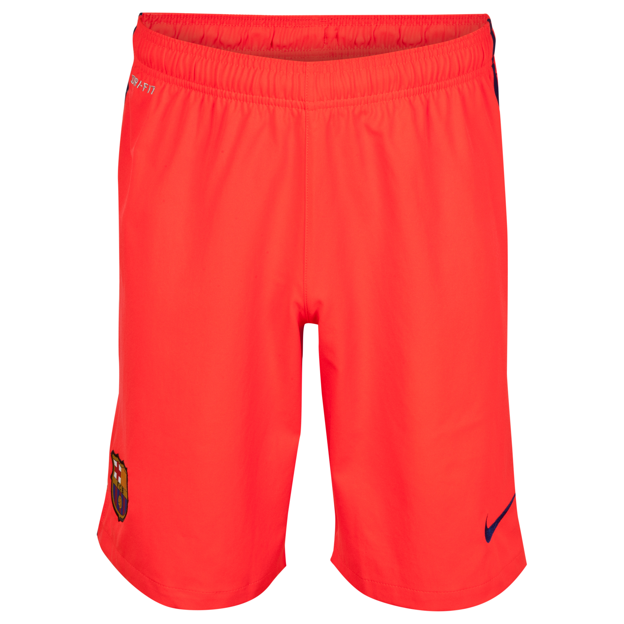 Barcelona Away Shorts 2014/15 - Kids Red