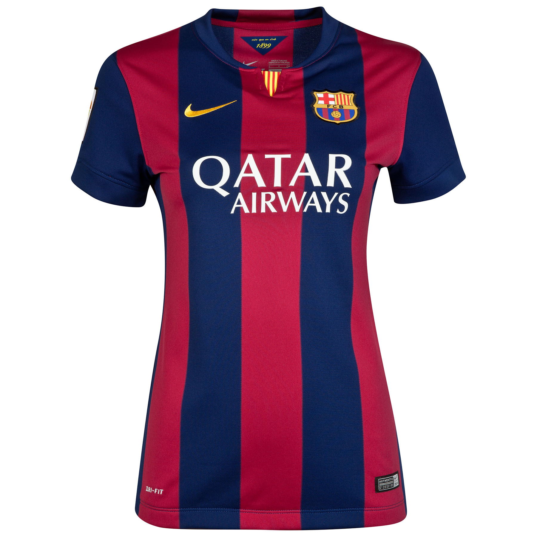 Barcelona Home Shirt 2014/15 - Womens Blue