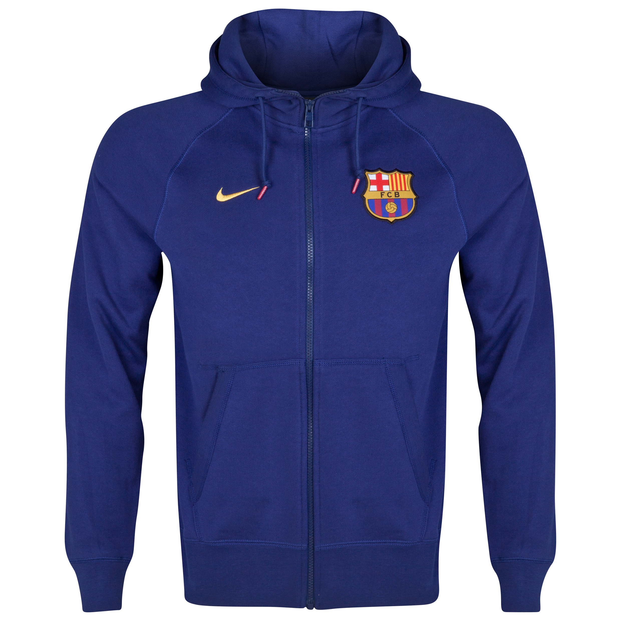 Barcelona Authentic AW77 FZ Hoody Blue