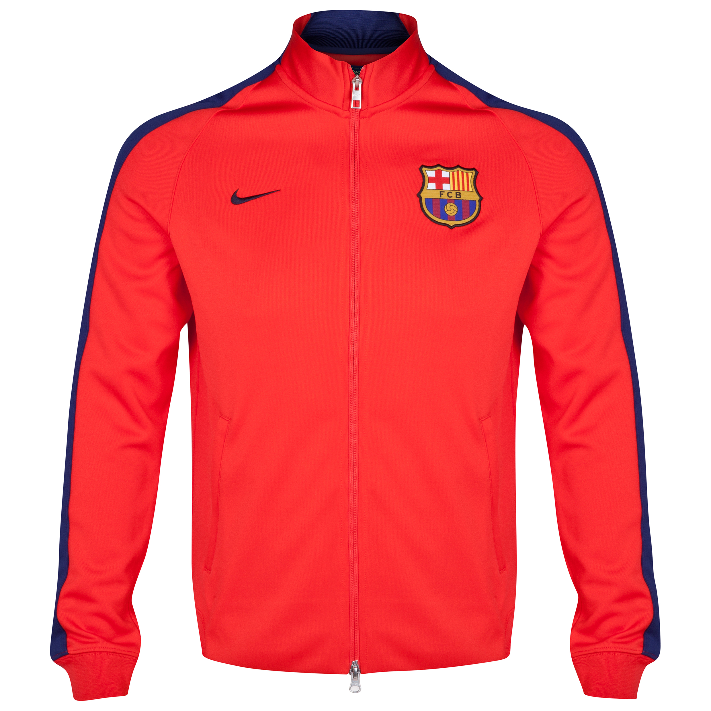 Barcelona Authentic N98 Jacket - Kids Red