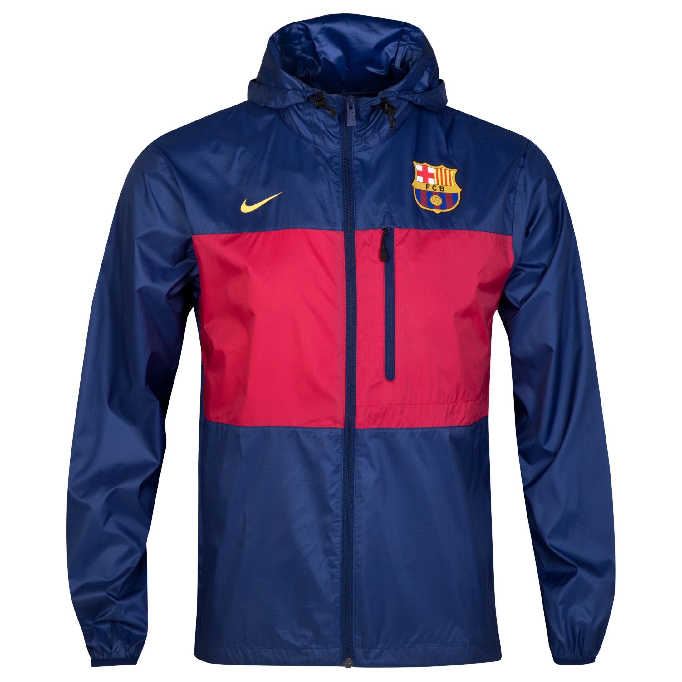 Barcelona Authentic Winger Jacket Blue