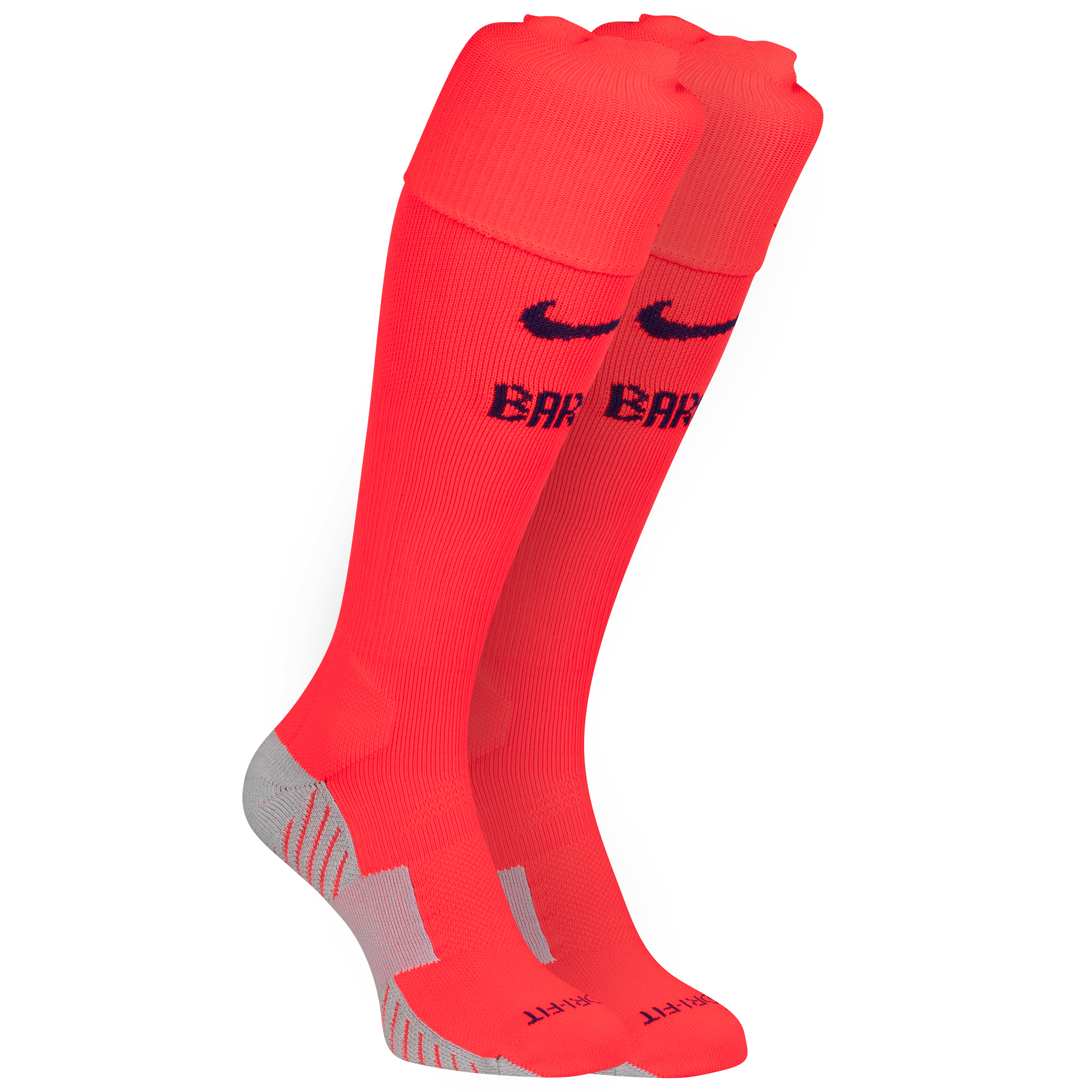 Barcelona Away Socks 2014/15 Red