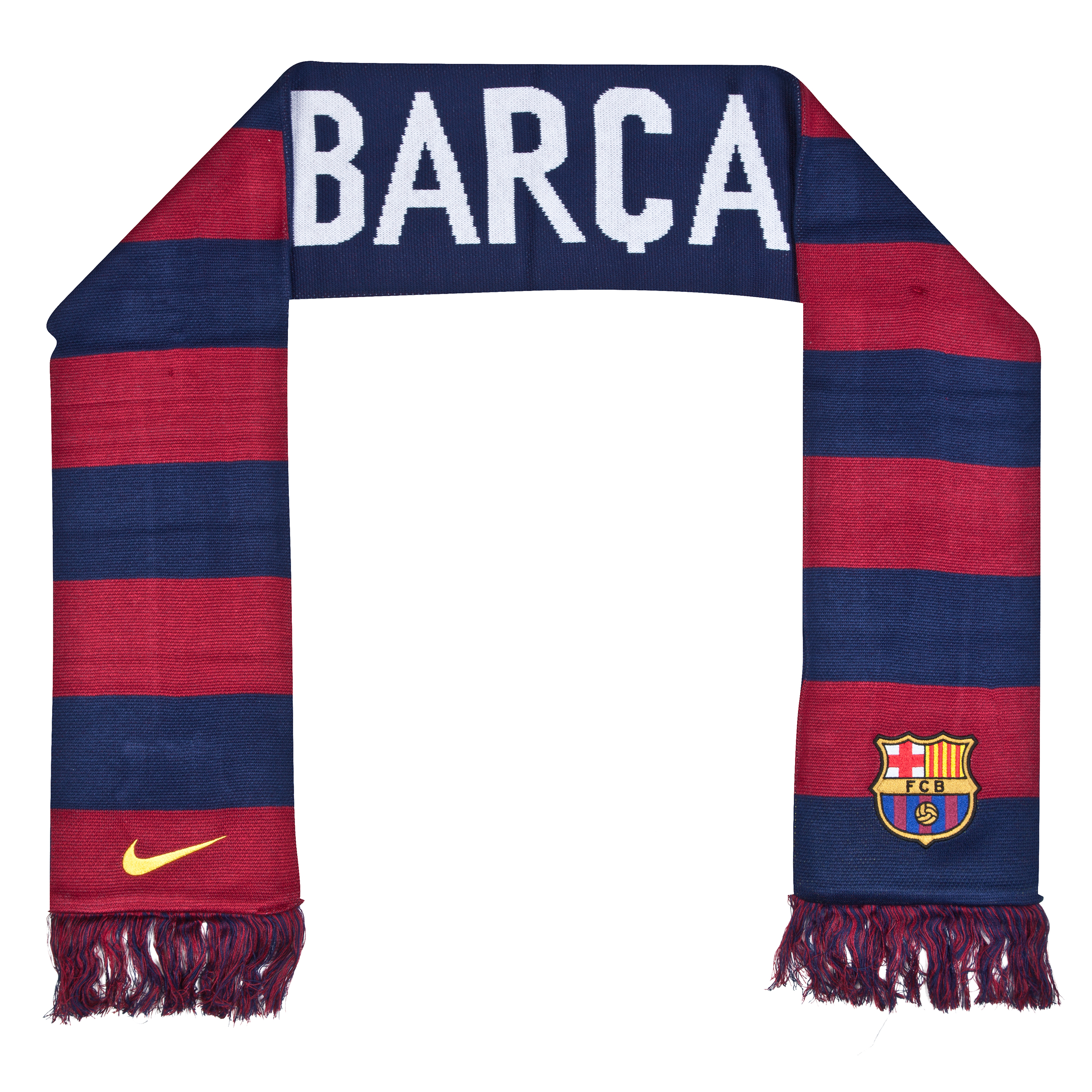 Barcelona Home Supporters Scarf Blue