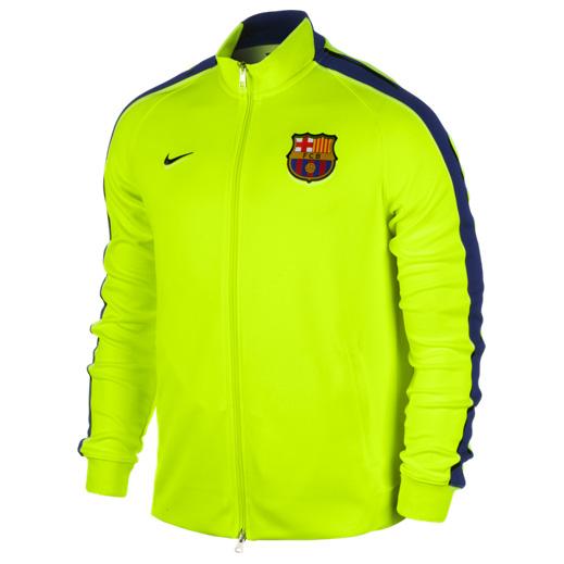 Barcelona Authentic N98 Jacket - Kids Yellow