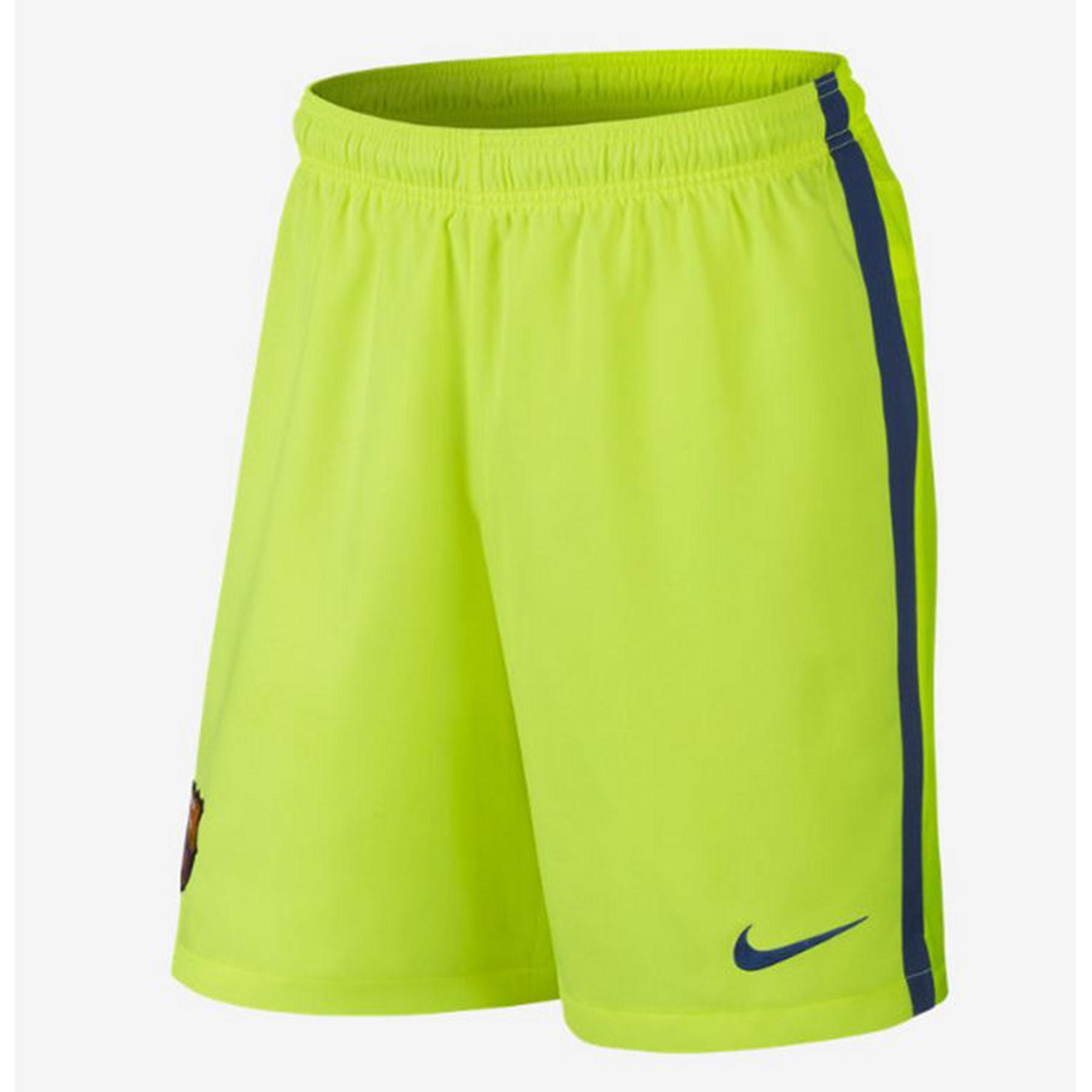 Barcelona Third Shorts 2014/15 Yellow