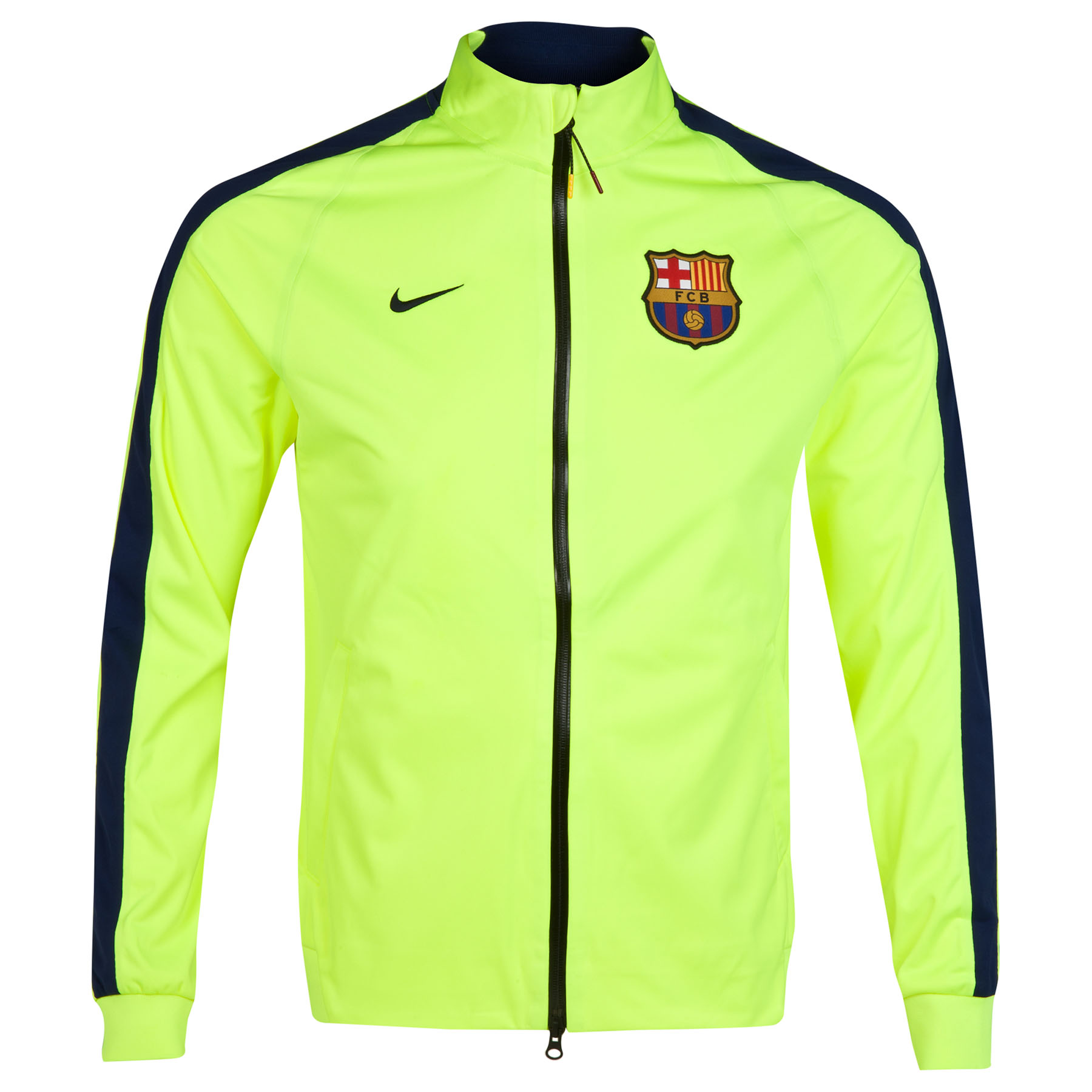 Barcelona N98 Anthem Jacket Yellow
