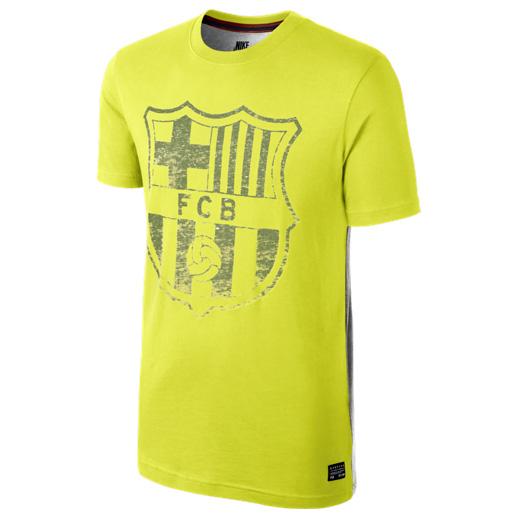 Barcelona Barcelona Covert T-Shirt Yellow