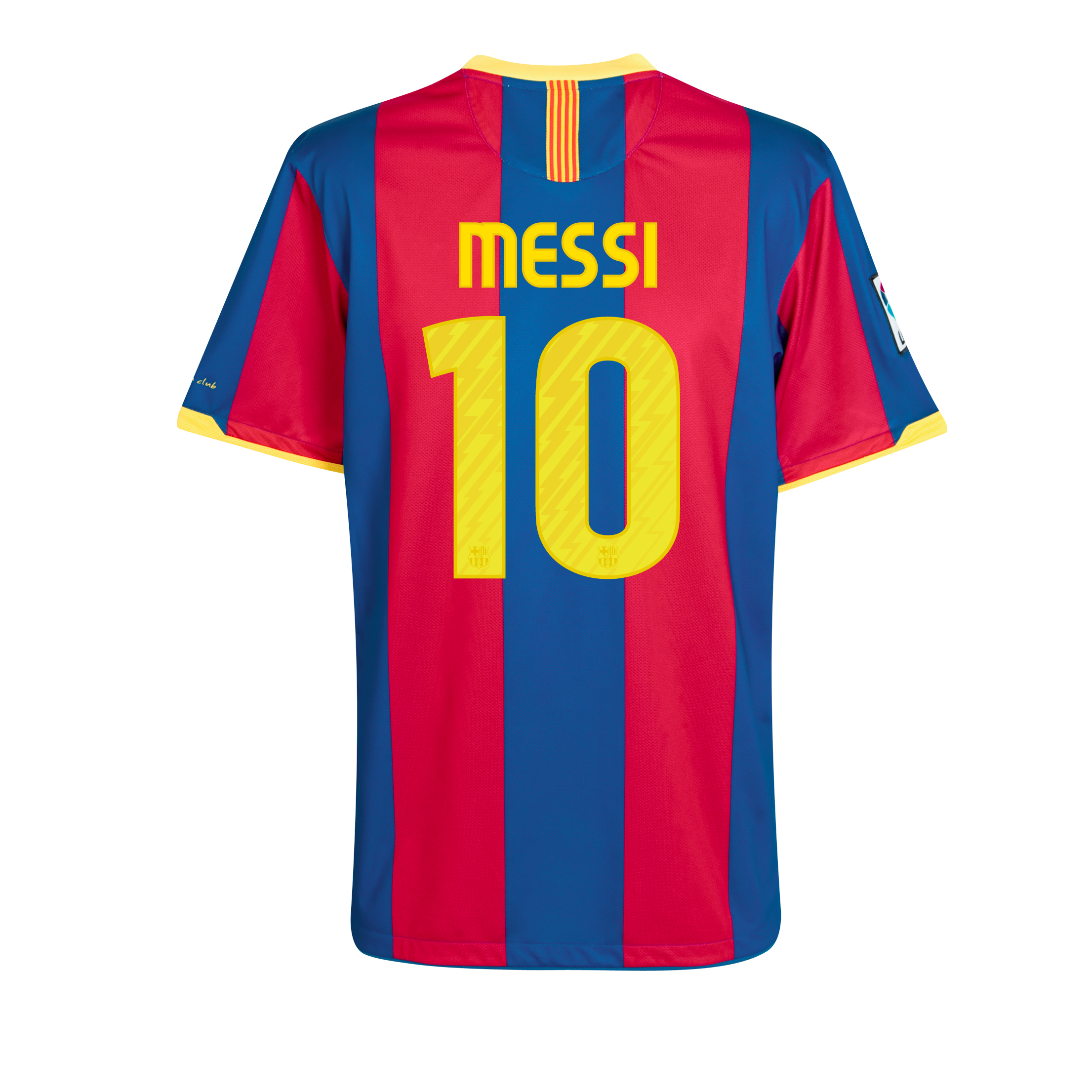 Barcelona Home Shirt 2010/11 with Messi 10 printing