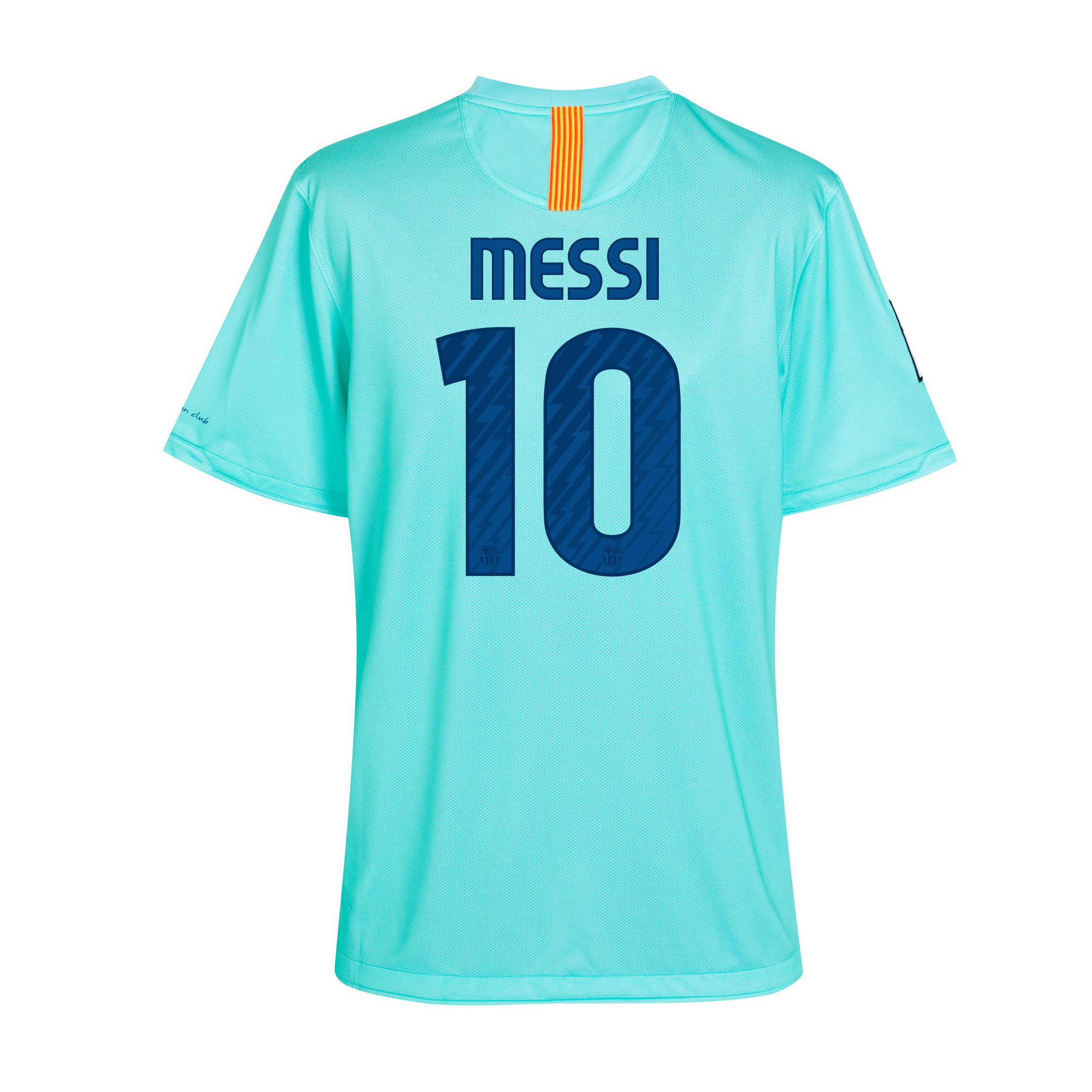Barcelona Away Shirt 2010/11 with Messi 10 printing - Kids