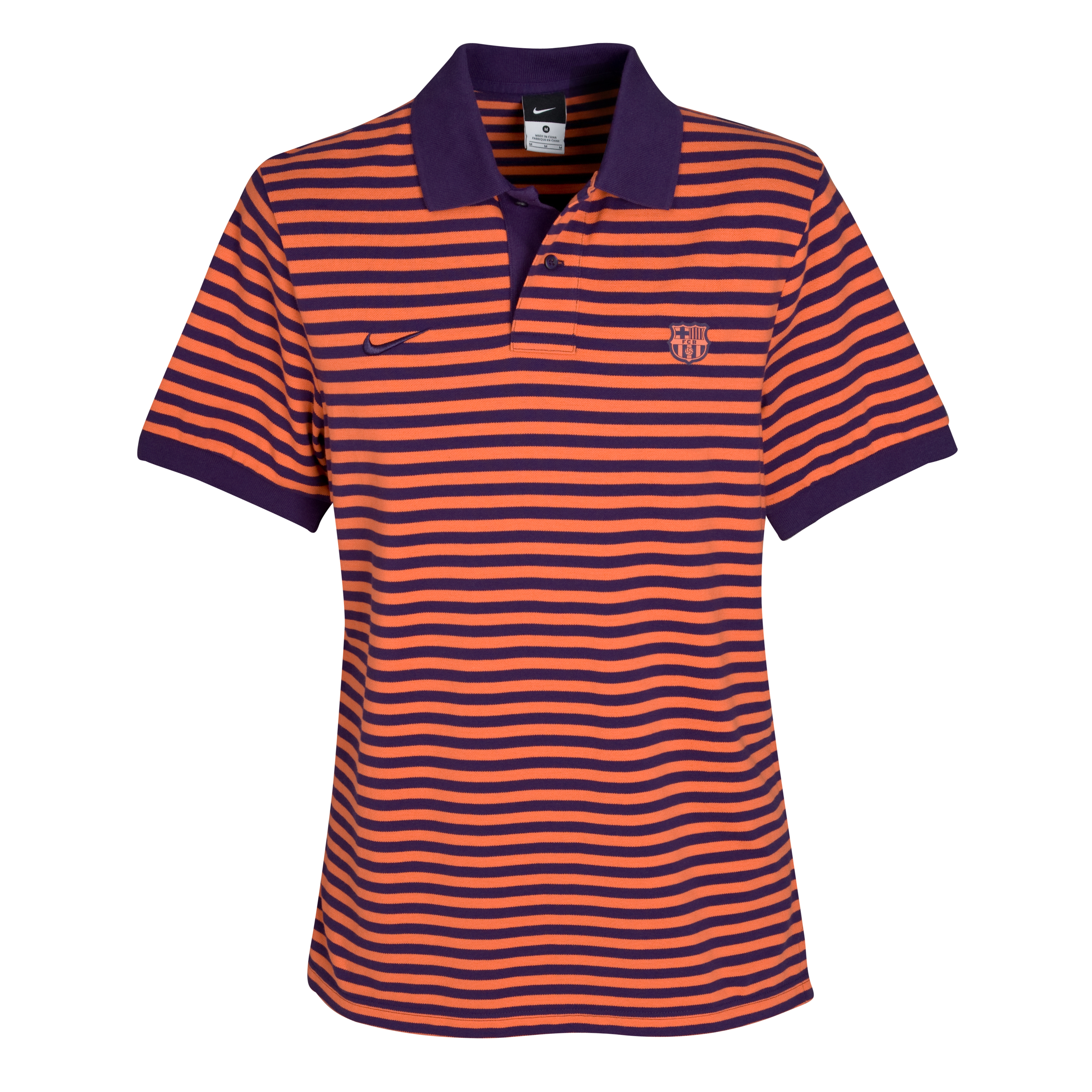 Barcelona Authentic Grand Slam Polo - Ink/Light Bright Coral