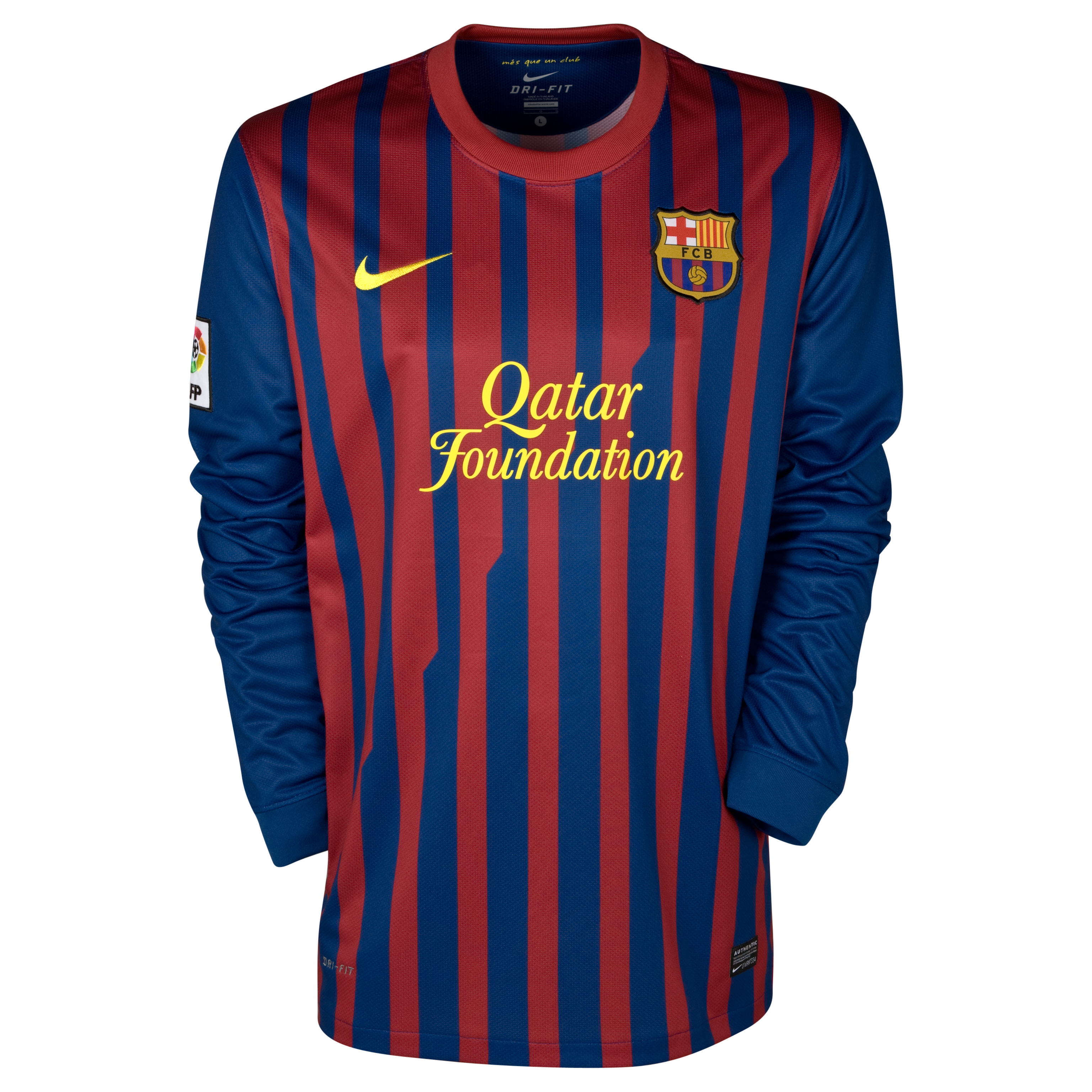 Barcelona Home Shirt 2011/12 - Long Sleeved