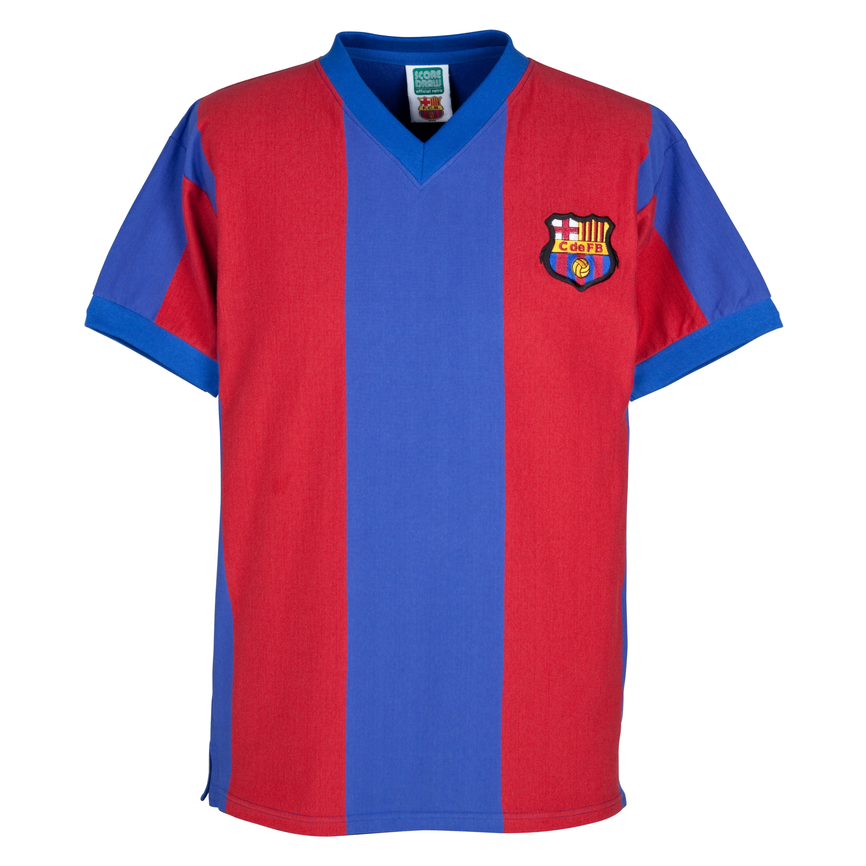 Barcelona 1960 Home Retro Shirt