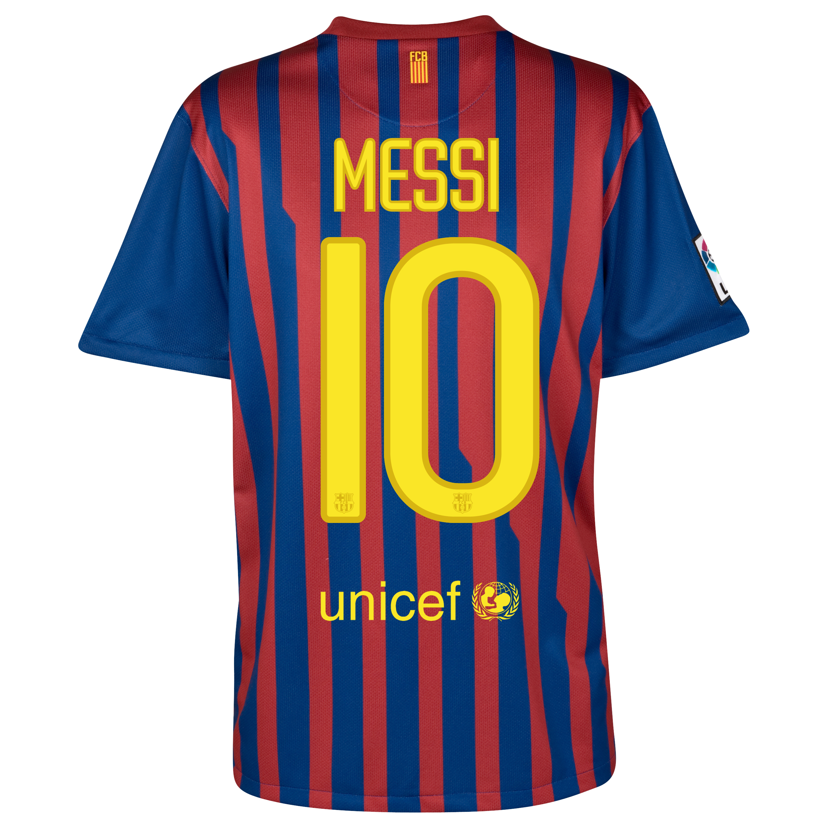 Barcelona Home Jersey 2011/12 with Messi 10 printing