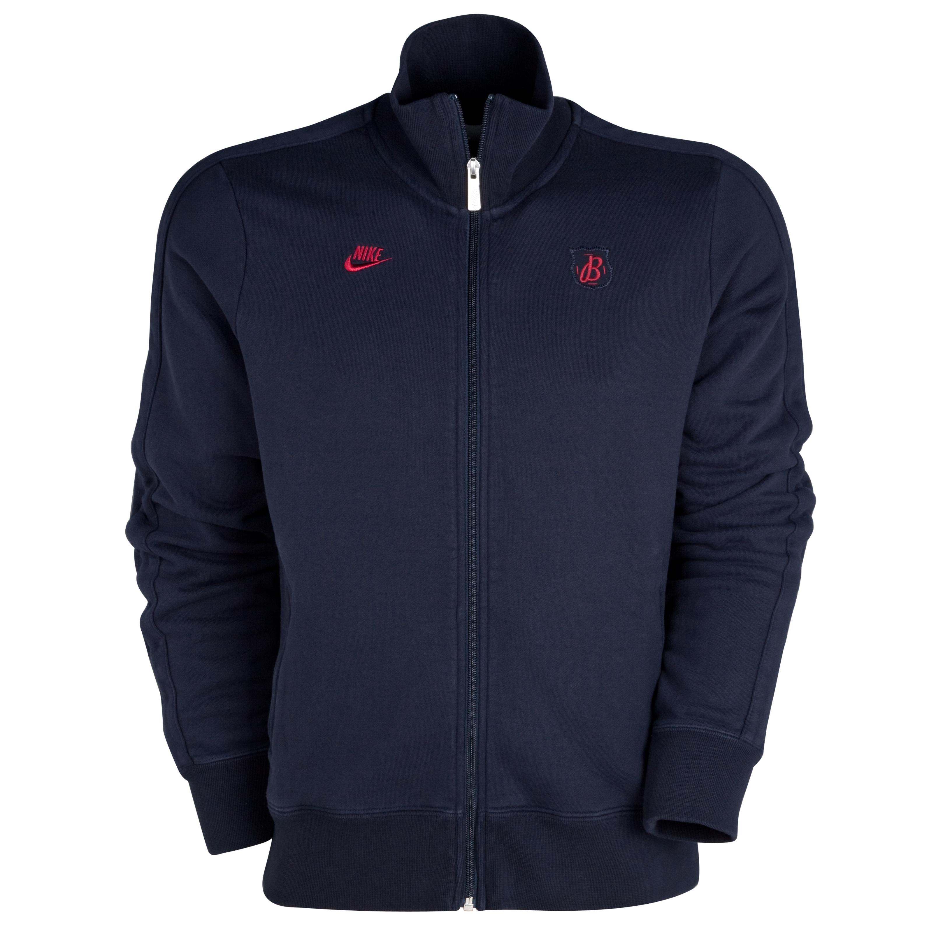 Barcelona GF N98 Sweat Jacket - Dark Obsidian/ Team Red. for 60€