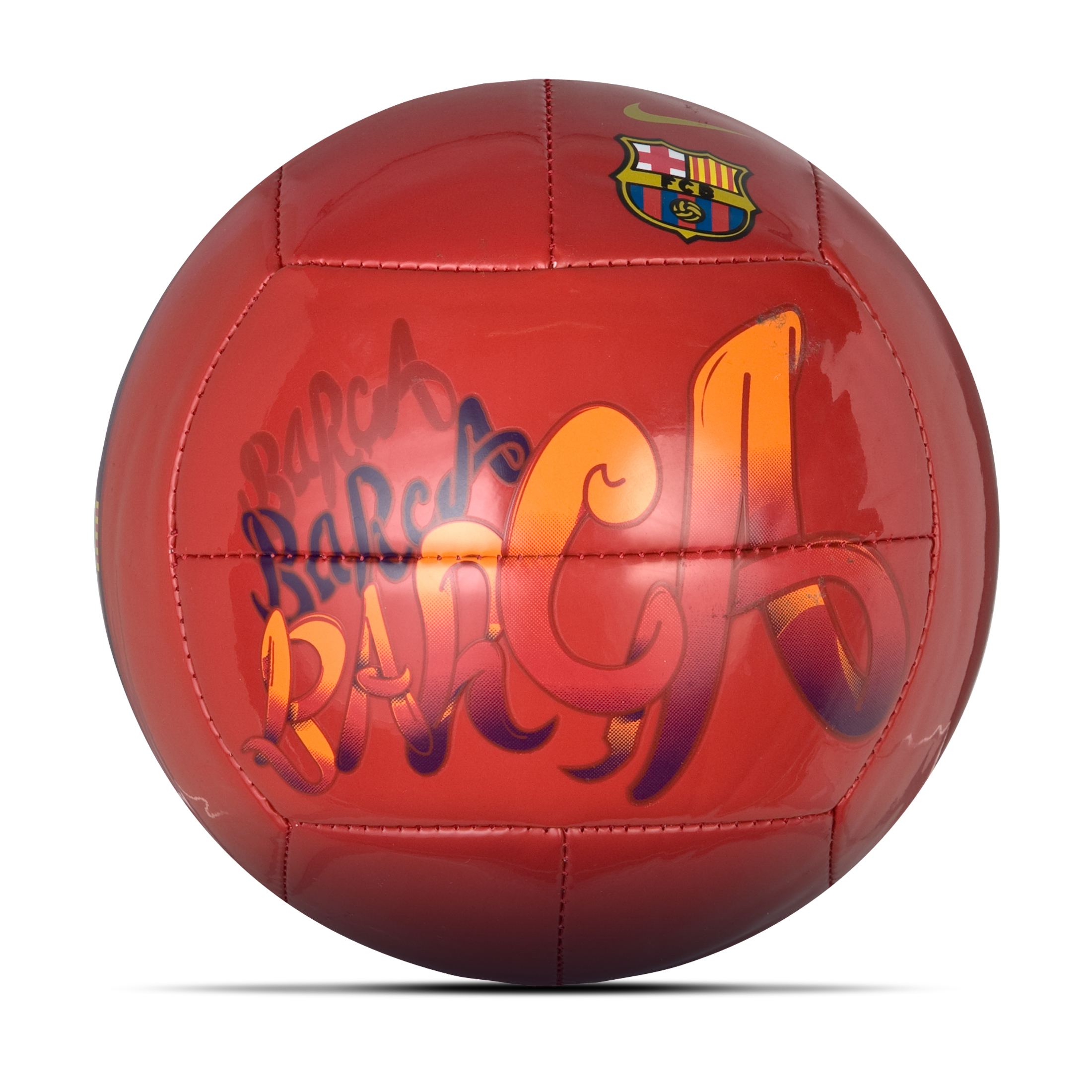 Barcelona Prestige Skills Football - Size 1 - Maroon/Blue/ Gold