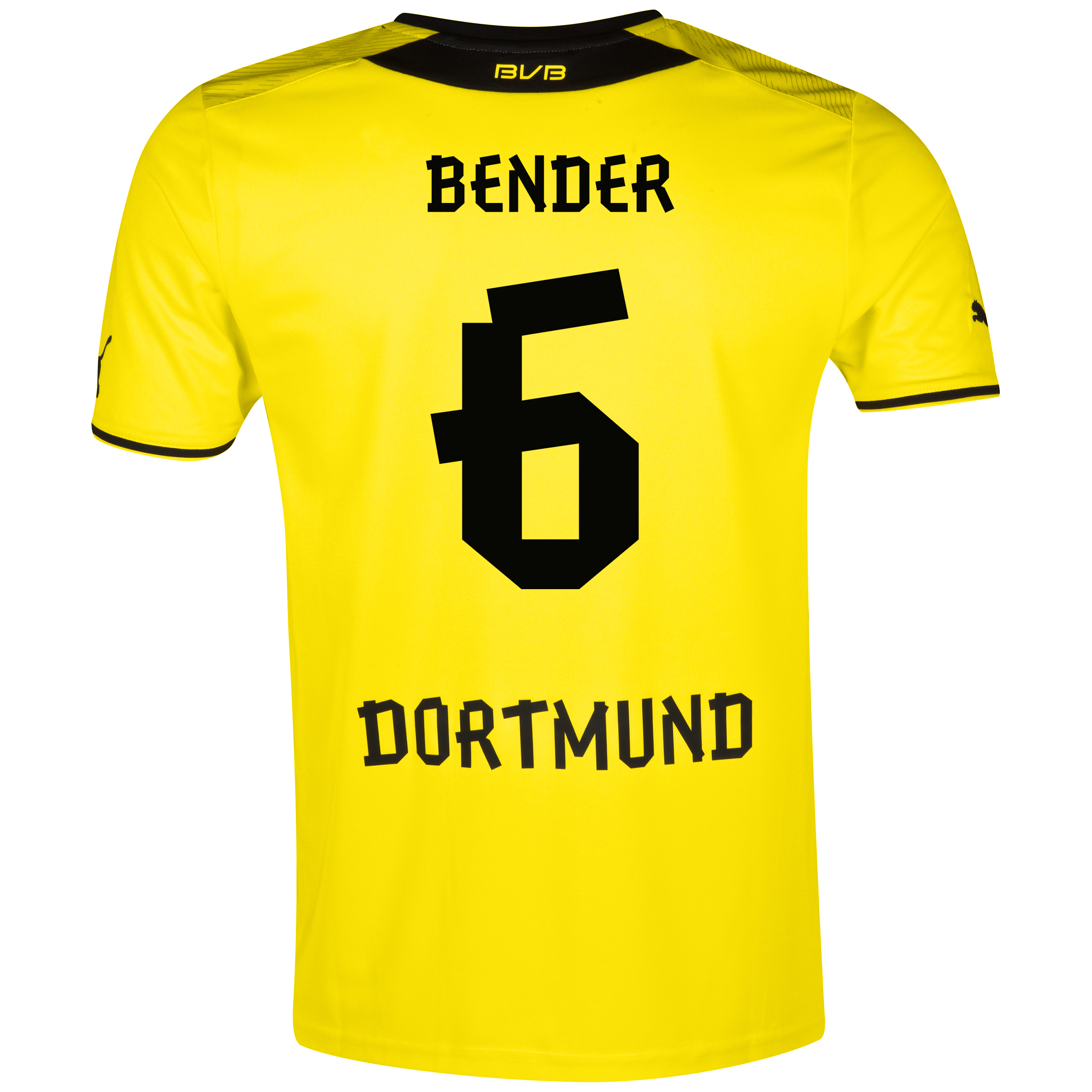 BVB Home Shirt 2013/14 with Bender 6 printing