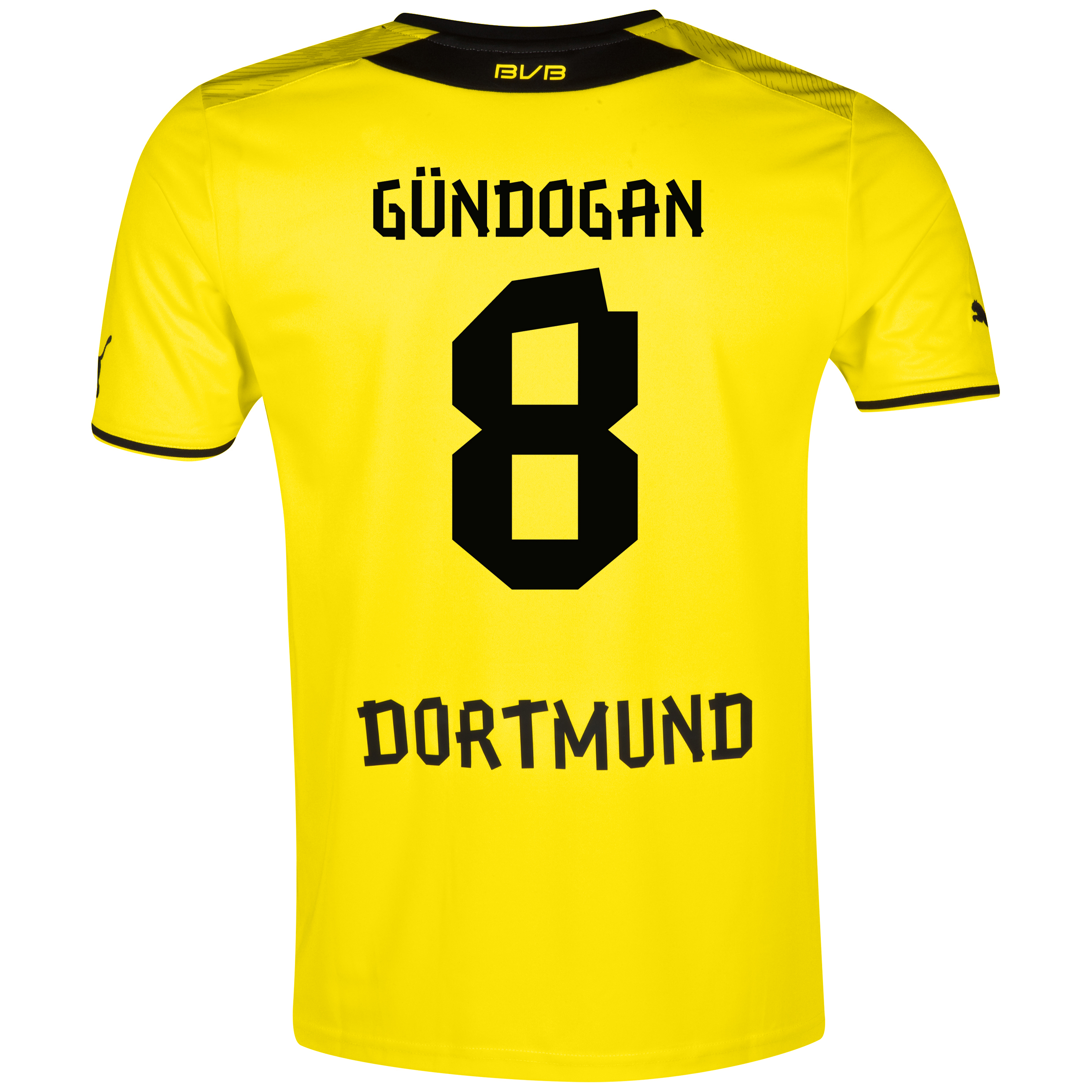 BVB Home Shirt 2013/14 with Gündogan 8 printing