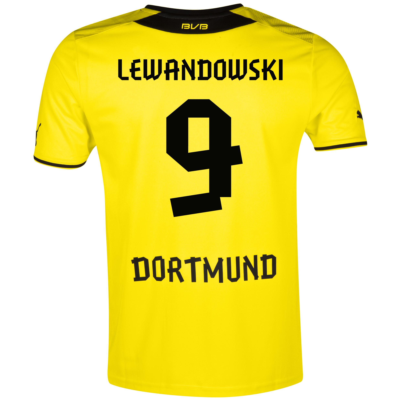 BVB Home Shirt 2013/14 with Lewandowski 9 printing