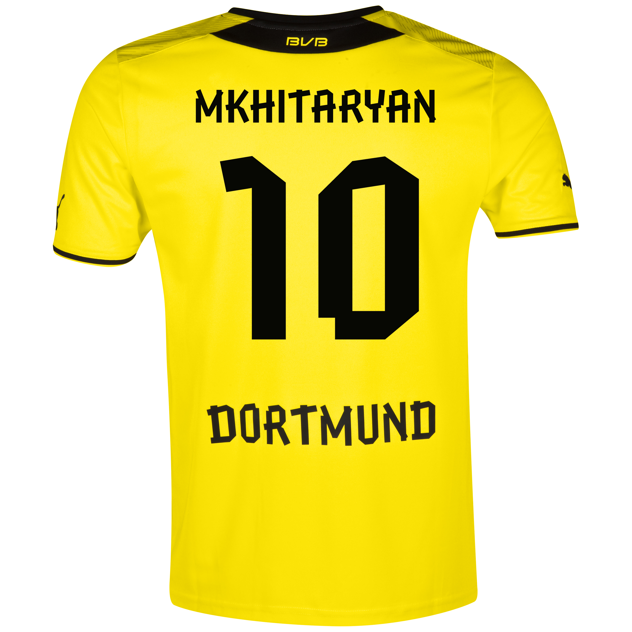 BVB Home Shirt 2013/14 with Mkhitaryan 10 printing