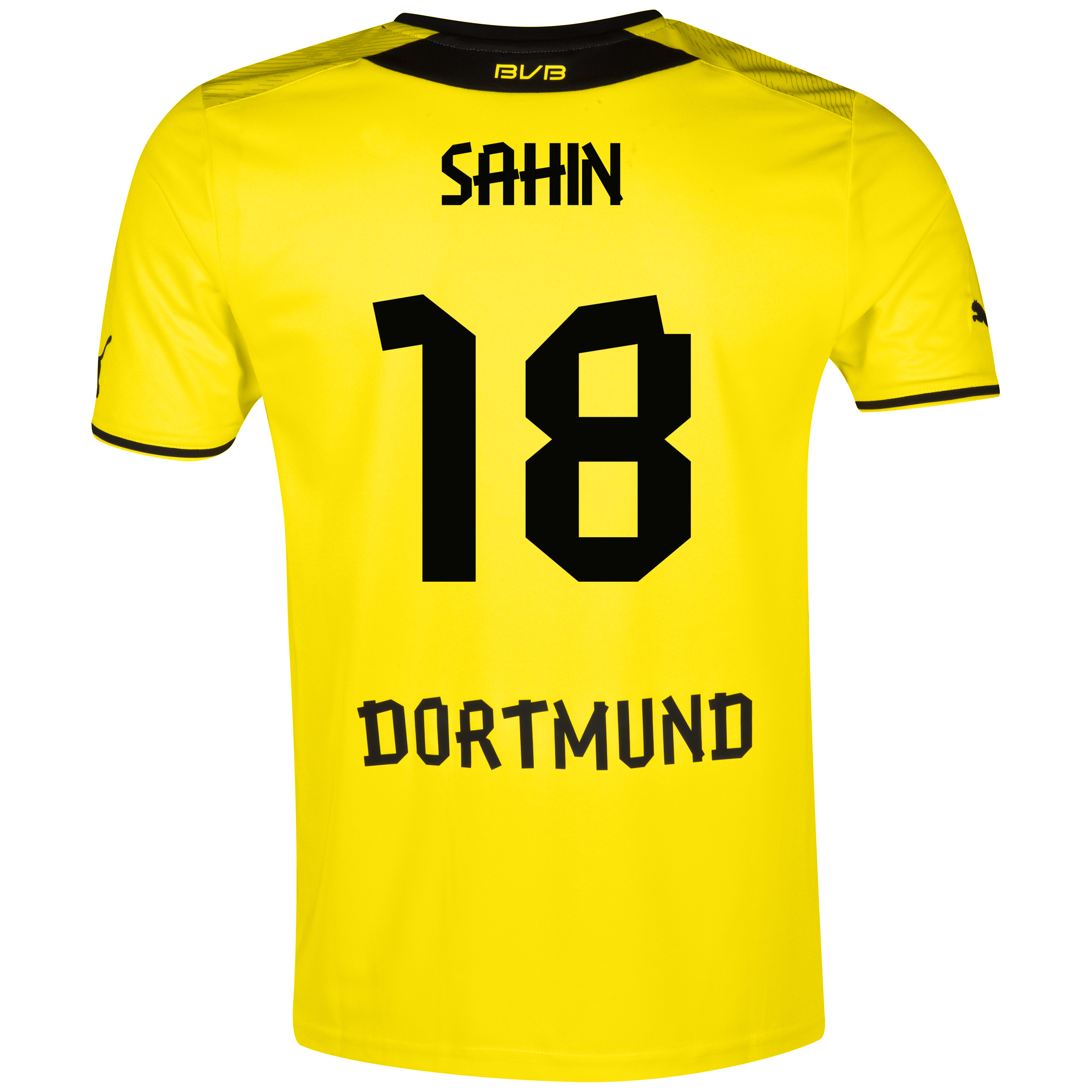 BVB Home Shirt 2013/14 with Sahin 18 printing