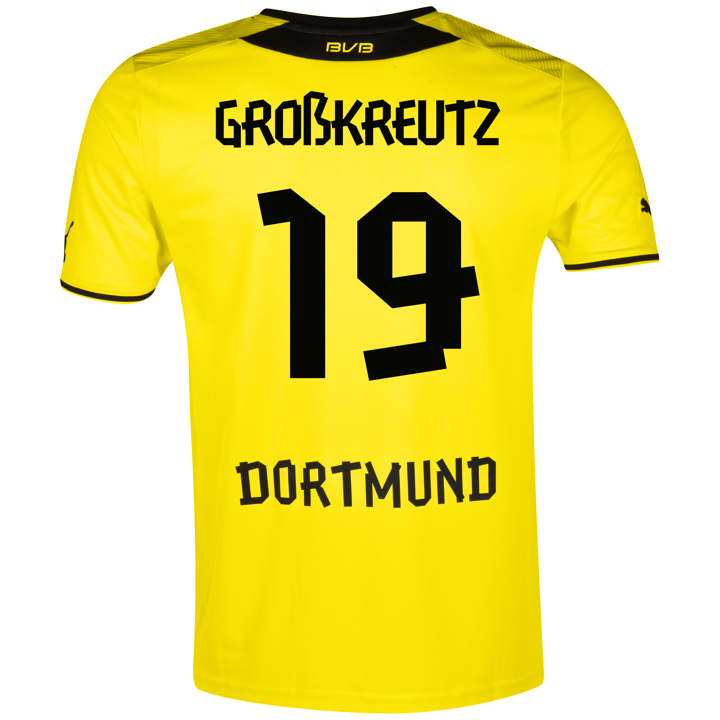BVB Home Shirt 2013/14 with Grosskreutz 19 printing